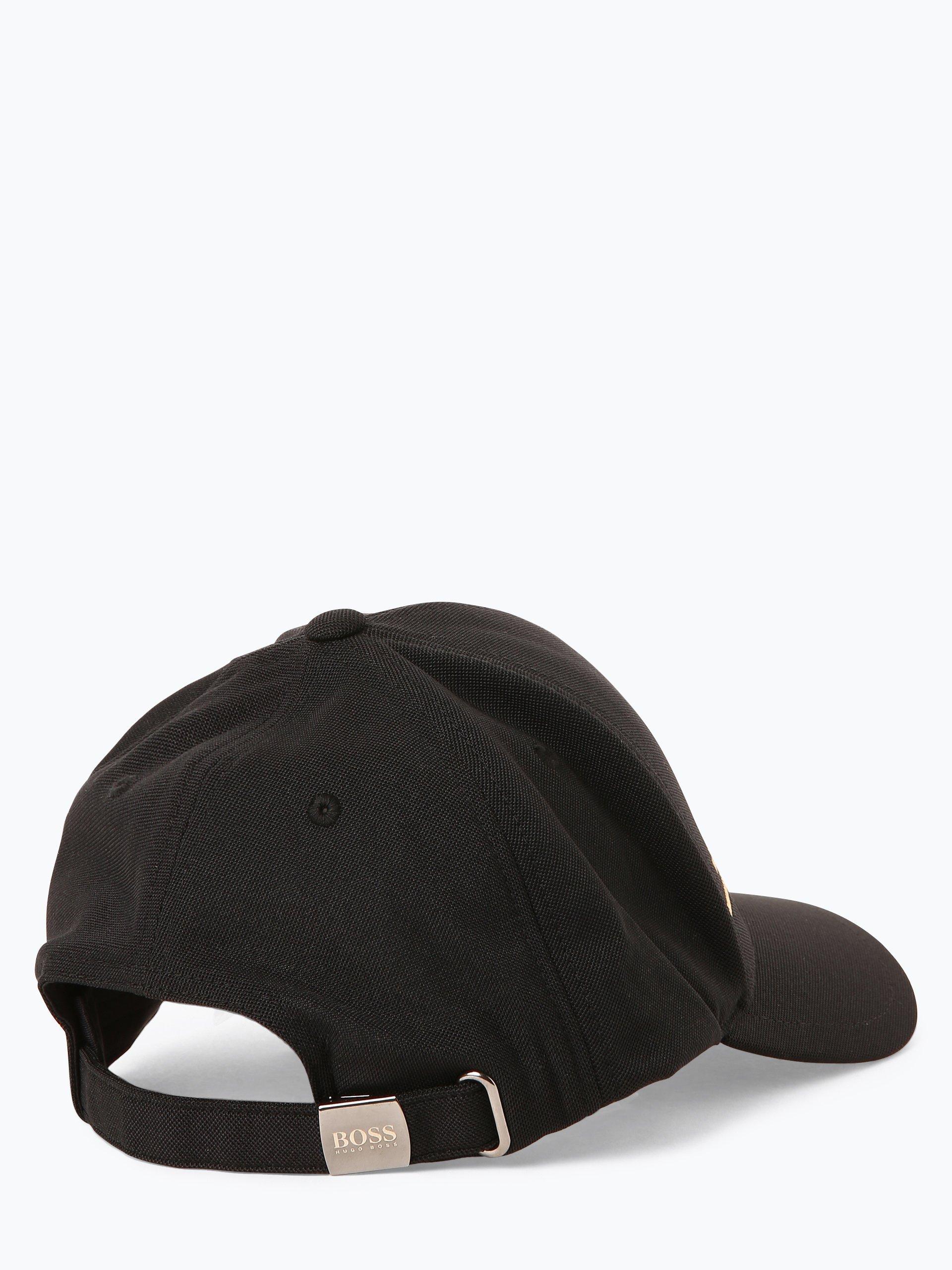 boss menswear athleisure herren cap cap stripe schwarz. Black Bedroom Furniture Sets. Home Design Ideas