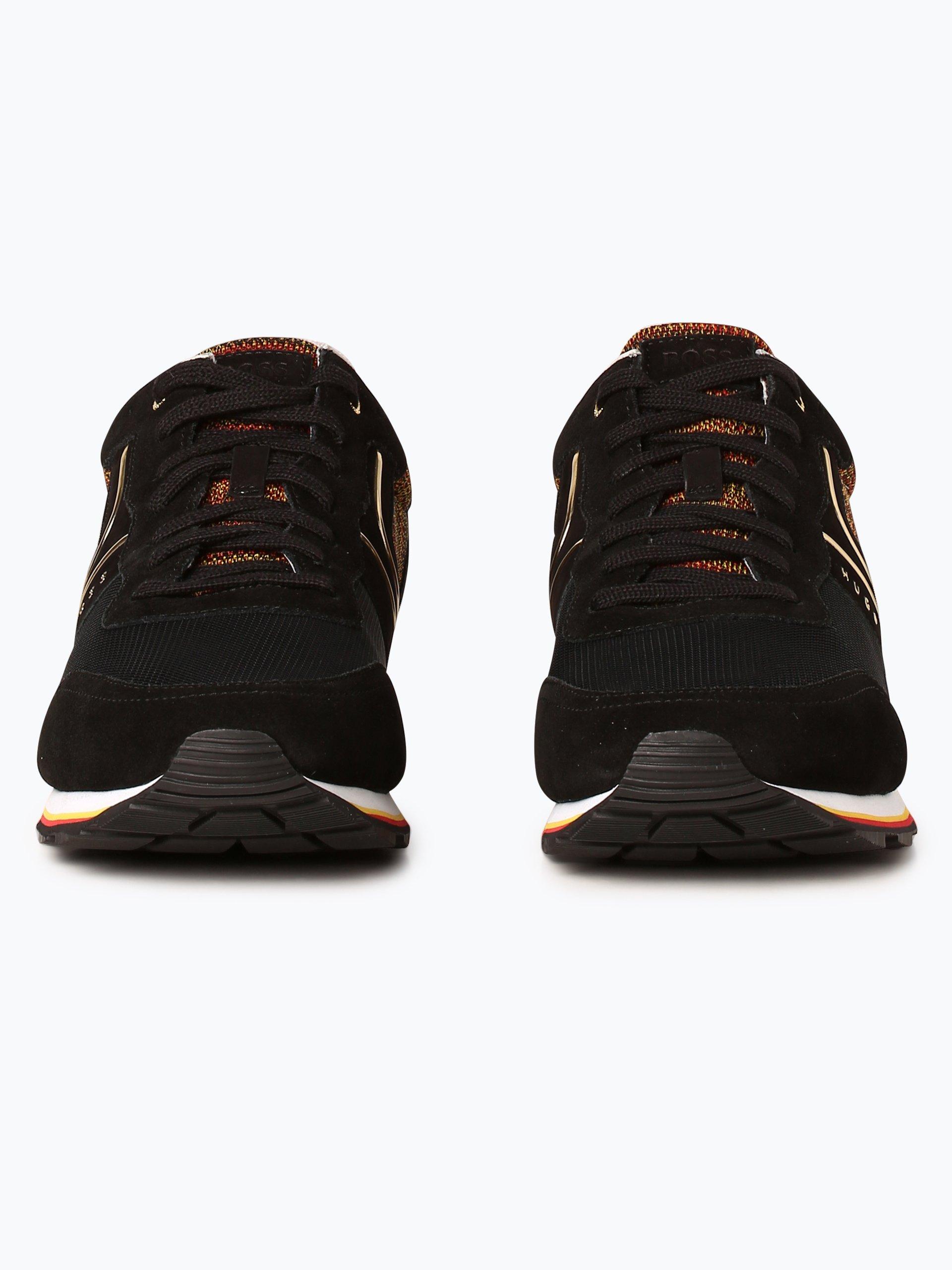BOSS Menswear Athleisure Herren Sneaker mit Leder-Anteil - Parkour_Runn_flag