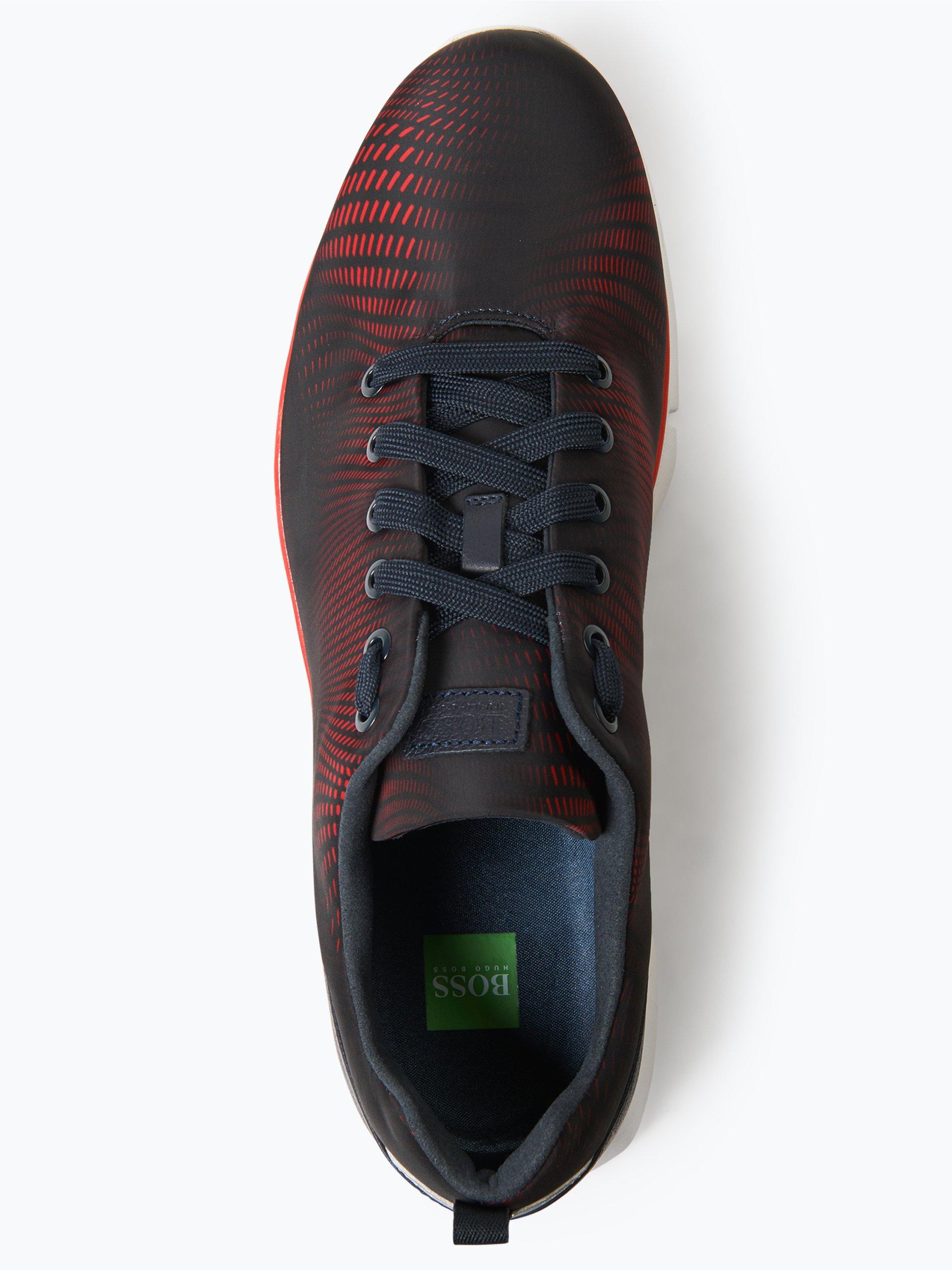 BOSS Menswear Athleisure Herren Sneaker mit Leder-Besatz - Gym_Runn_nypr1
