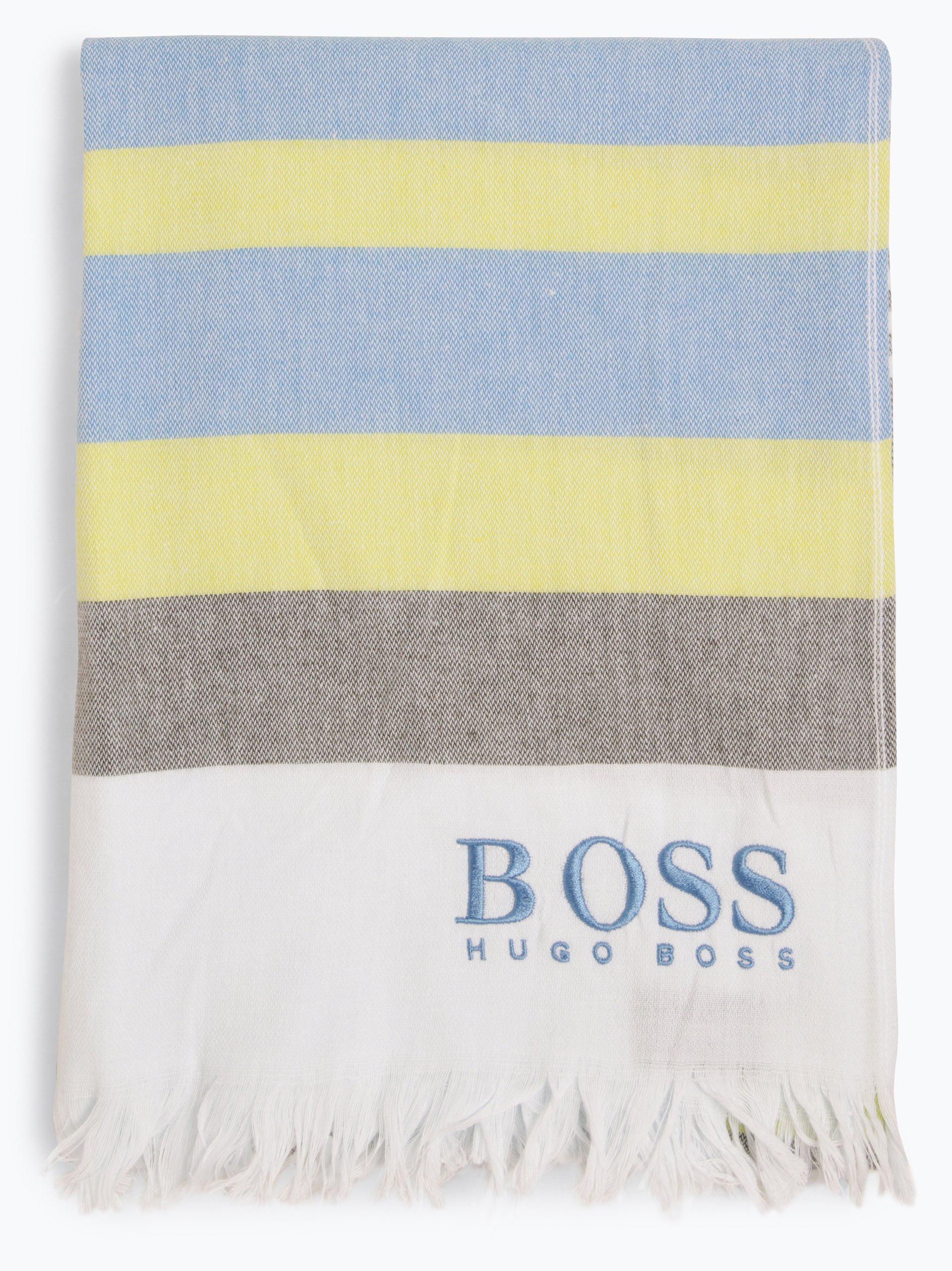 BOSS Męski ręcznik kąpielowy – Beach Towel Light