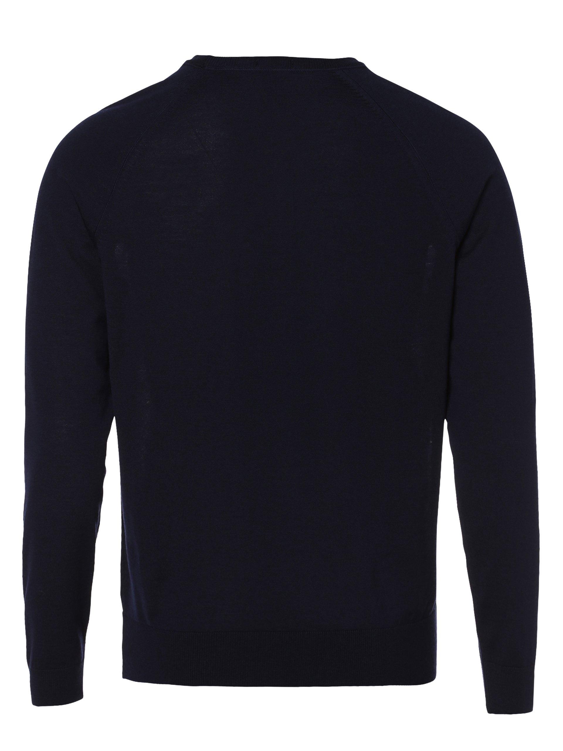 BOSS Męski sweter z wełny merino – Obarni-WS