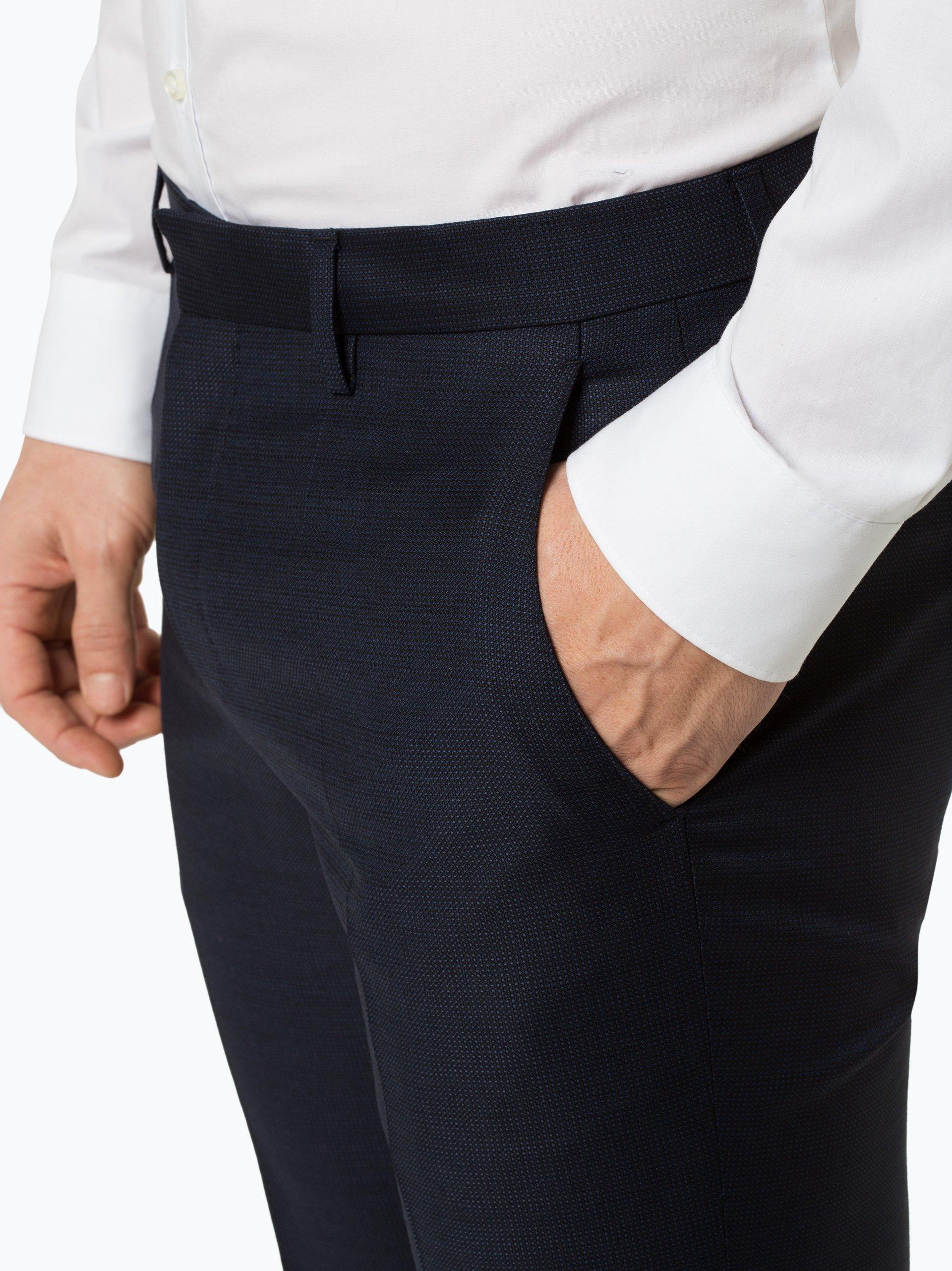 BOSS Męskie spodnie od garnituru modułowego – Genius5