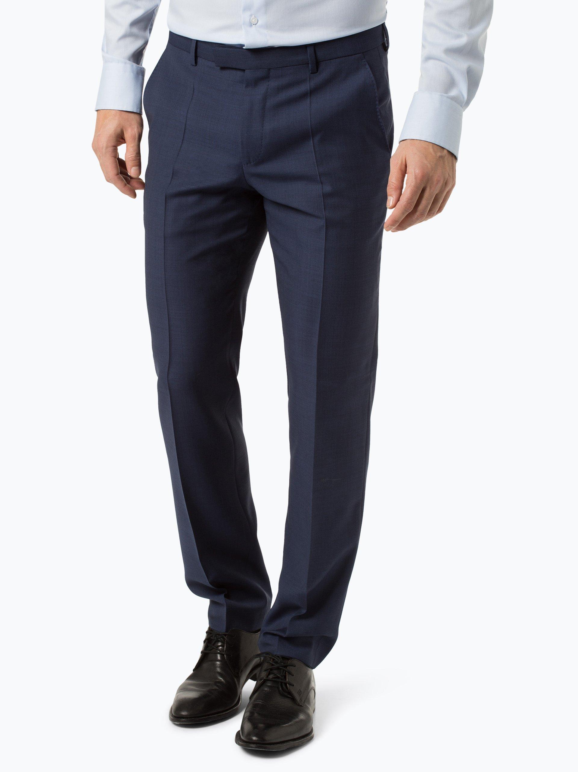 BOSS Męskie spodnie od garnituru modułowego – Lenon1