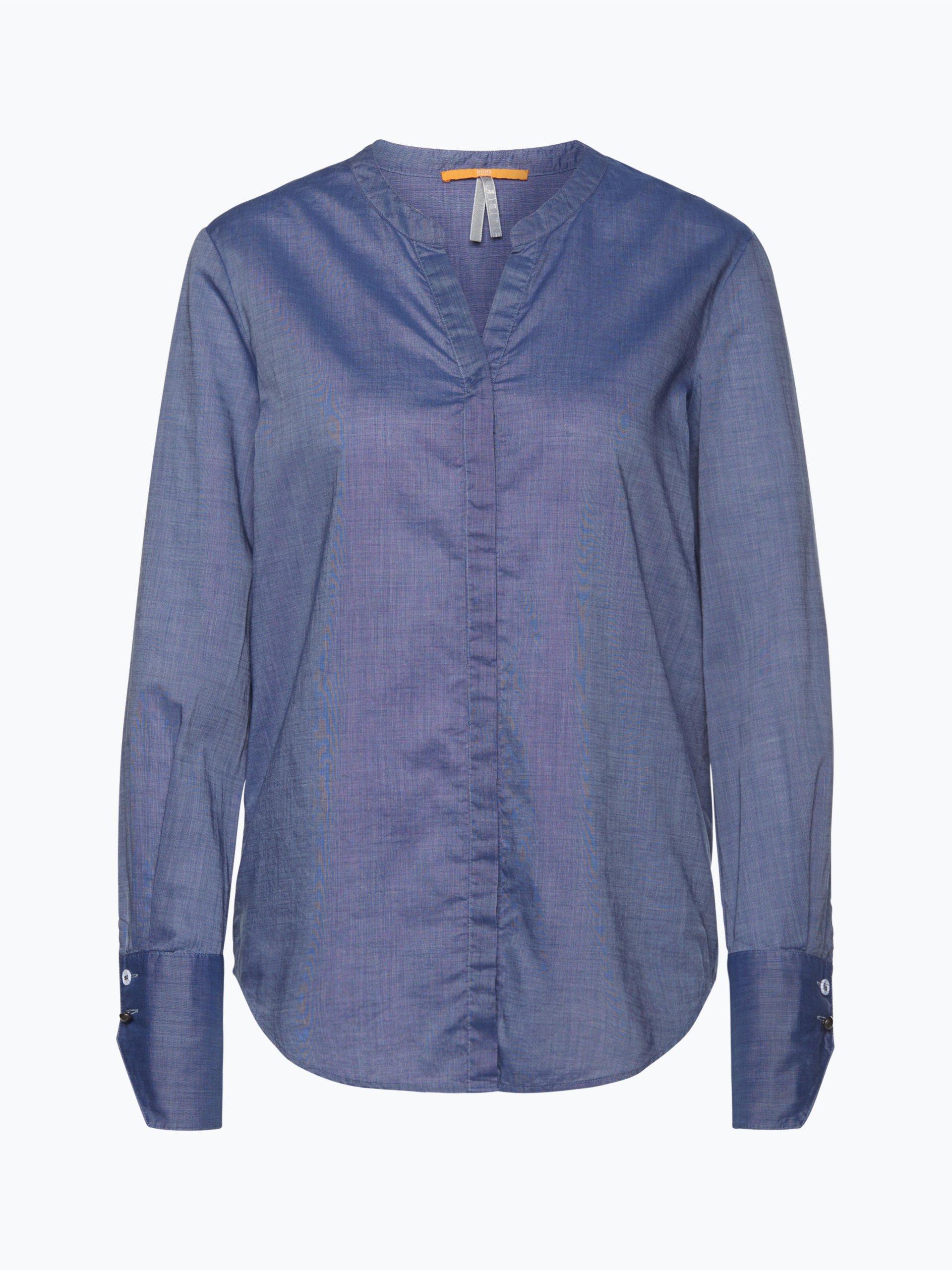 boss orange damen bluse efelize 11 marine uni online kaufen peek und cloppenburg de. Black Bedroom Furniture Sets. Home Design Ideas