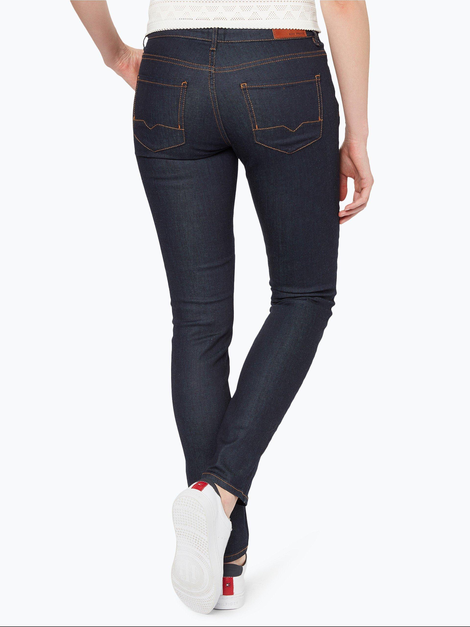 boss orange damen jeans j20 rienne marine uni online. Black Bedroom Furniture Sets. Home Design Ideas