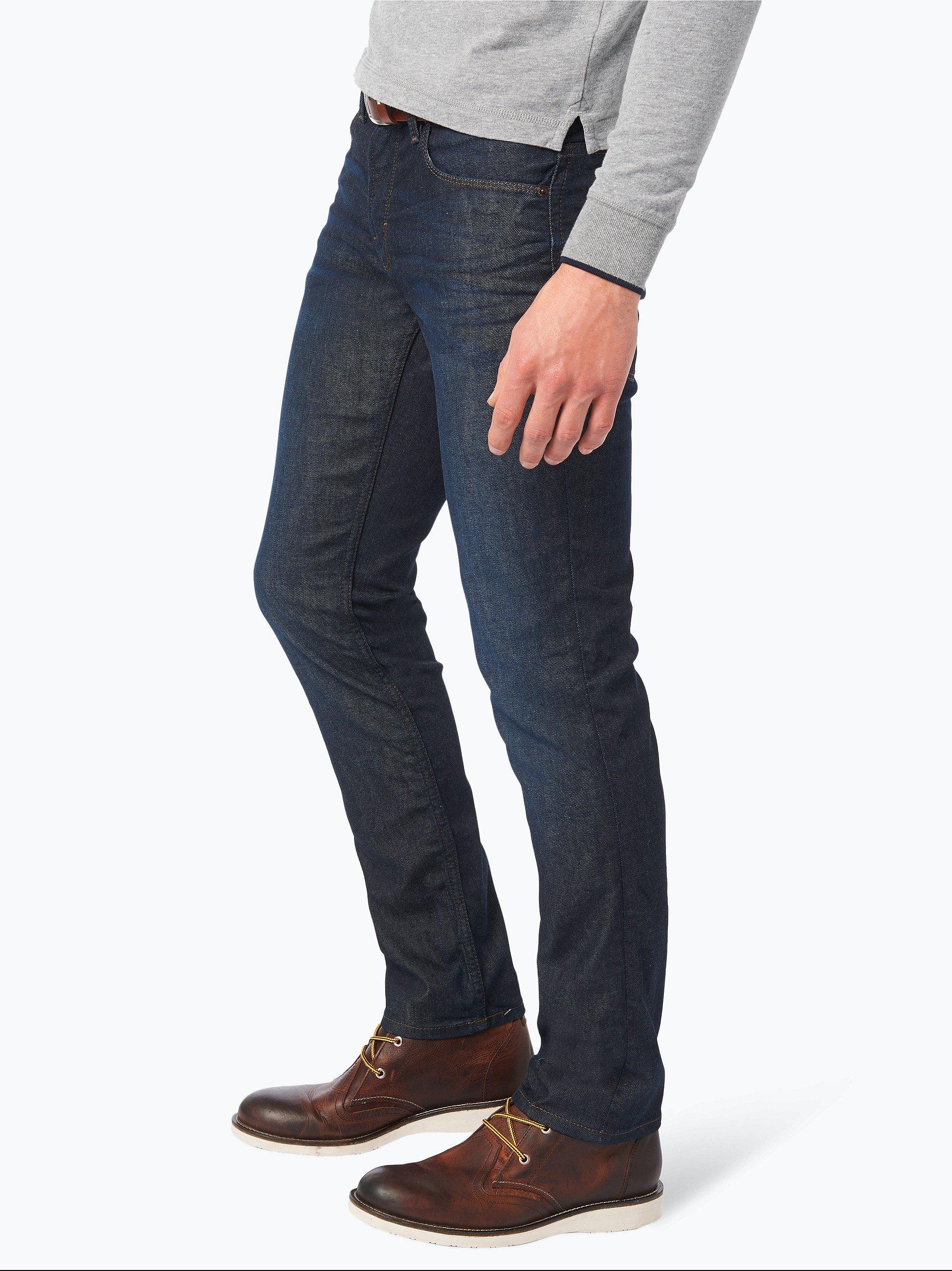 boss orange herren jeans orange 63 dark stone uni online kaufen vangraaf com. Black Bedroom Furniture Sets. Home Design Ideas