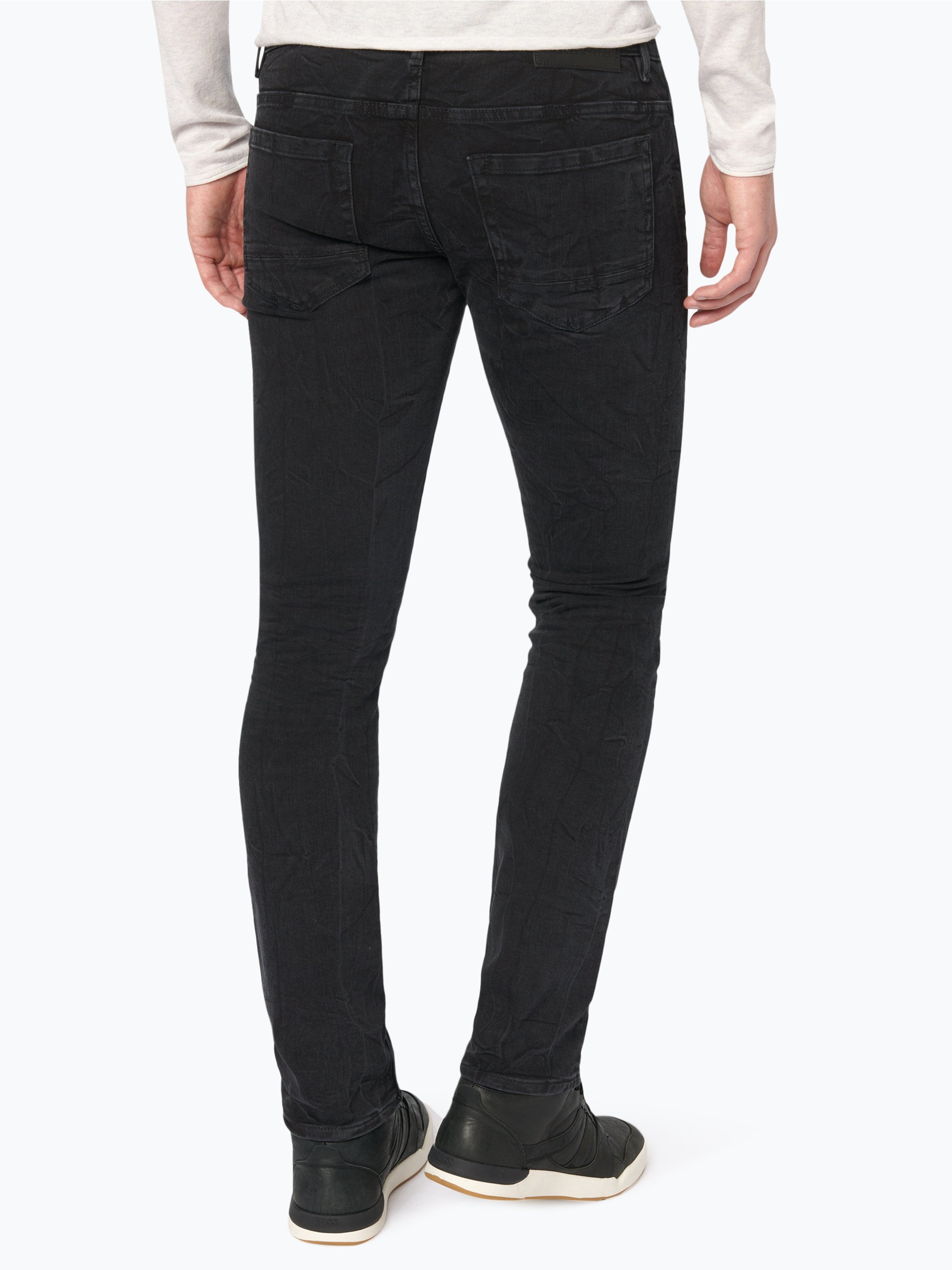 boss orange herren jeans orange 72 schwarz uni online kaufen peek und cloppenburg de. Black Bedroom Furniture Sets. Home Design Ideas