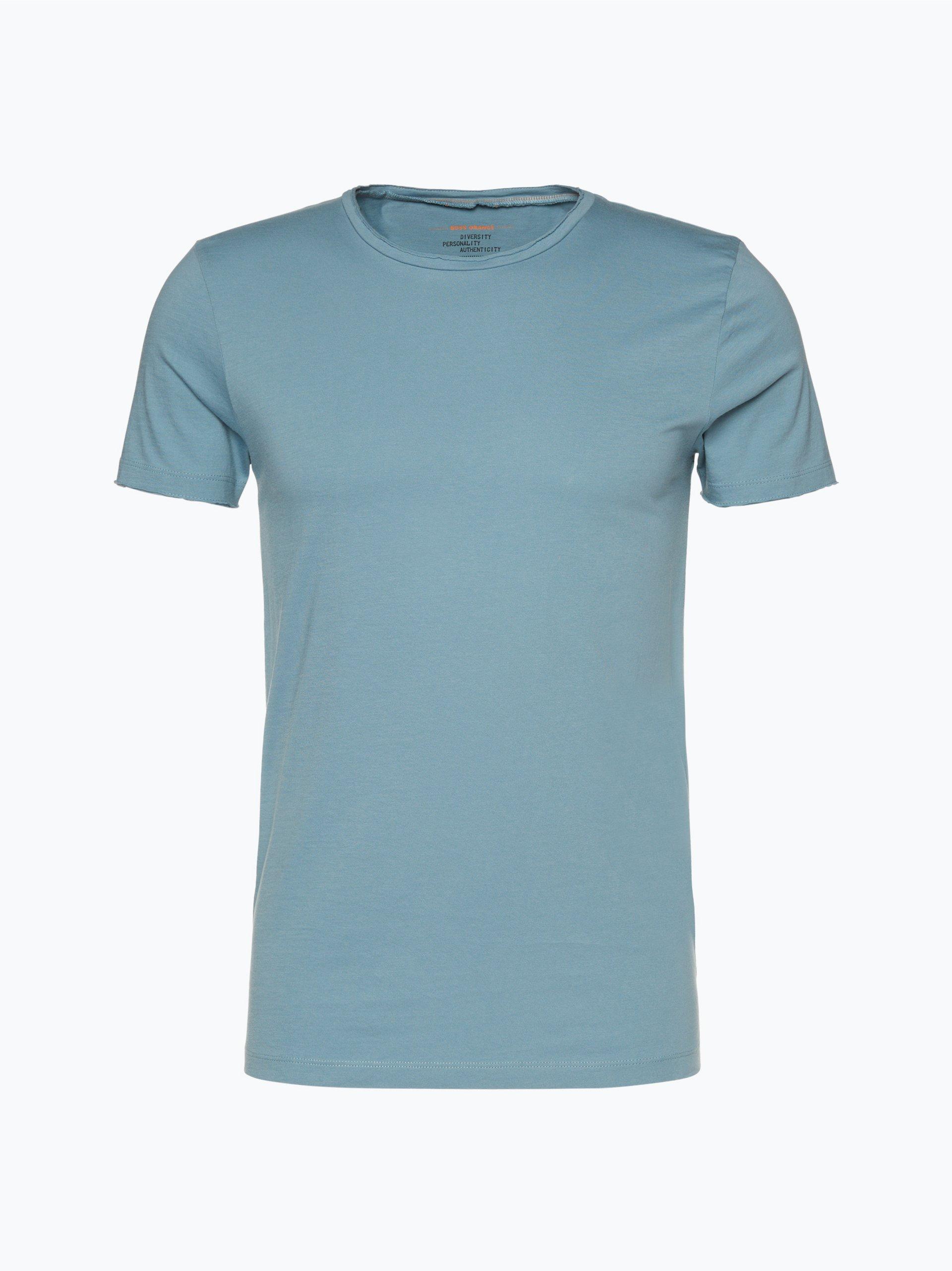 boss orange herren t shirt tooles aqua uni online kaufen. Black Bedroom Furniture Sets. Home Design Ideas