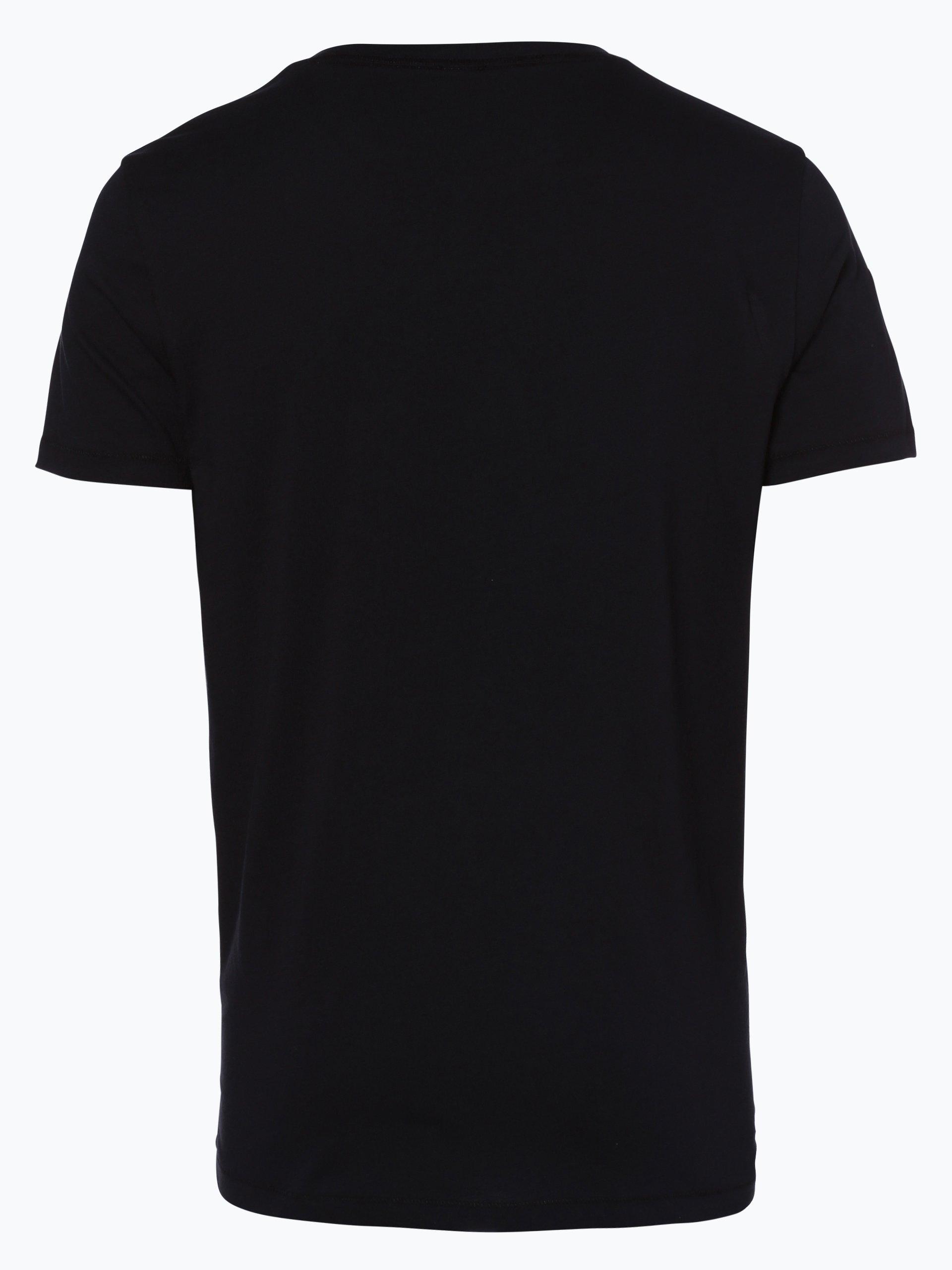 boss orange herren t shirt typer wei uni online kaufen. Black Bedroom Furniture Sets. Home Design Ideas