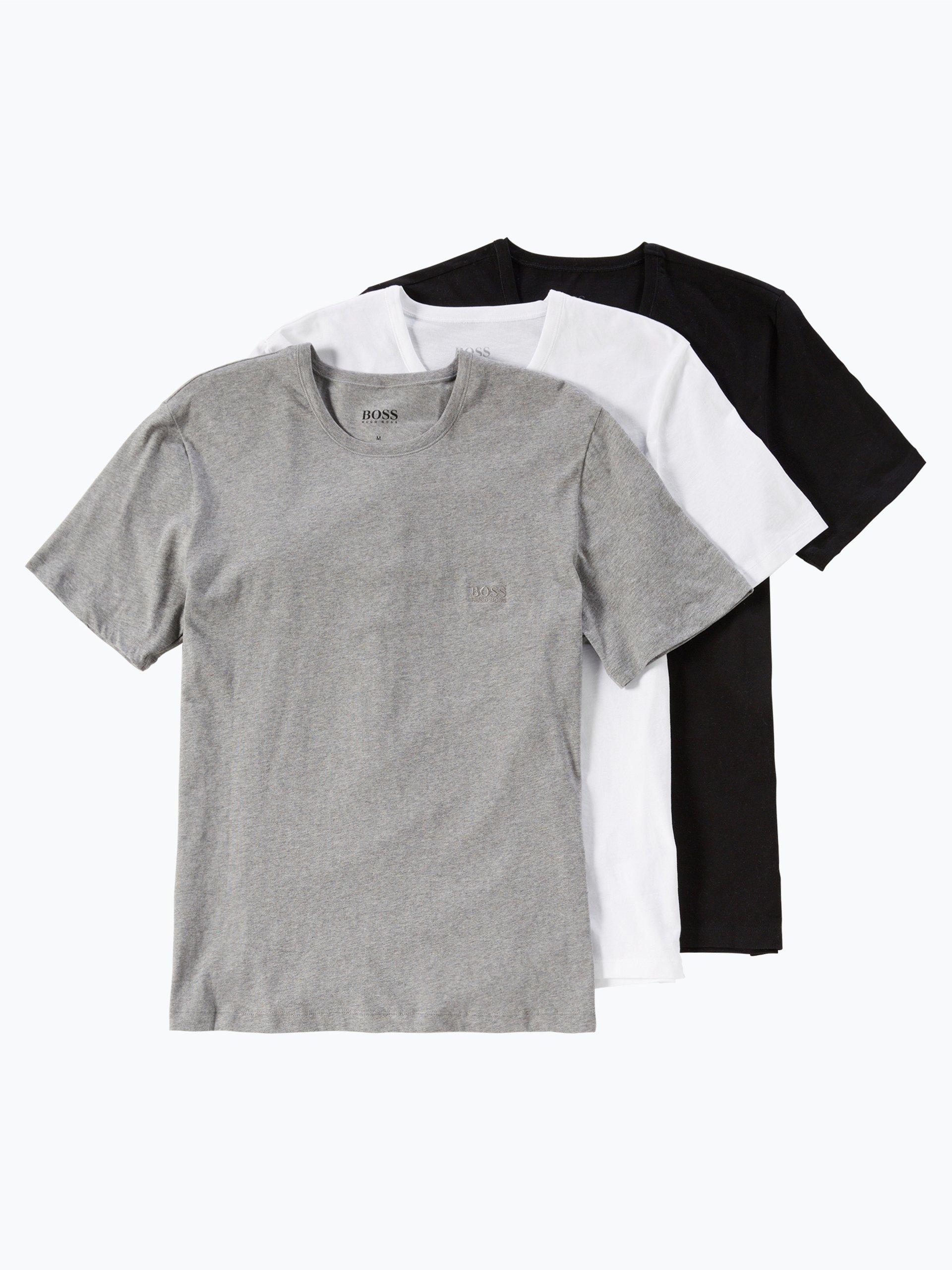 BOSS T-shirty męskie pakowane po 3 szt.