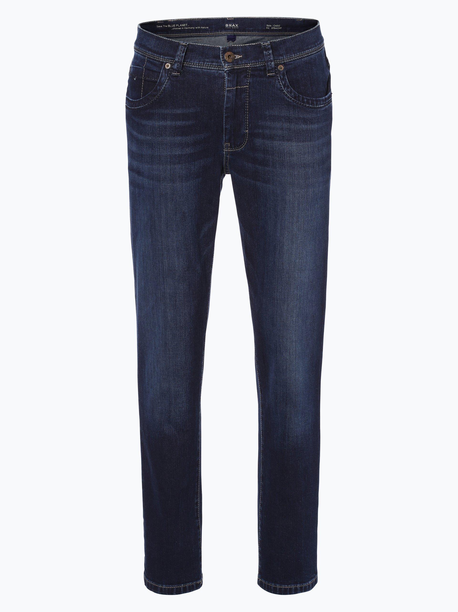 brax herren jeans cadiz dark stone uni online kaufen. Black Bedroom Furniture Sets. Home Design Ideas