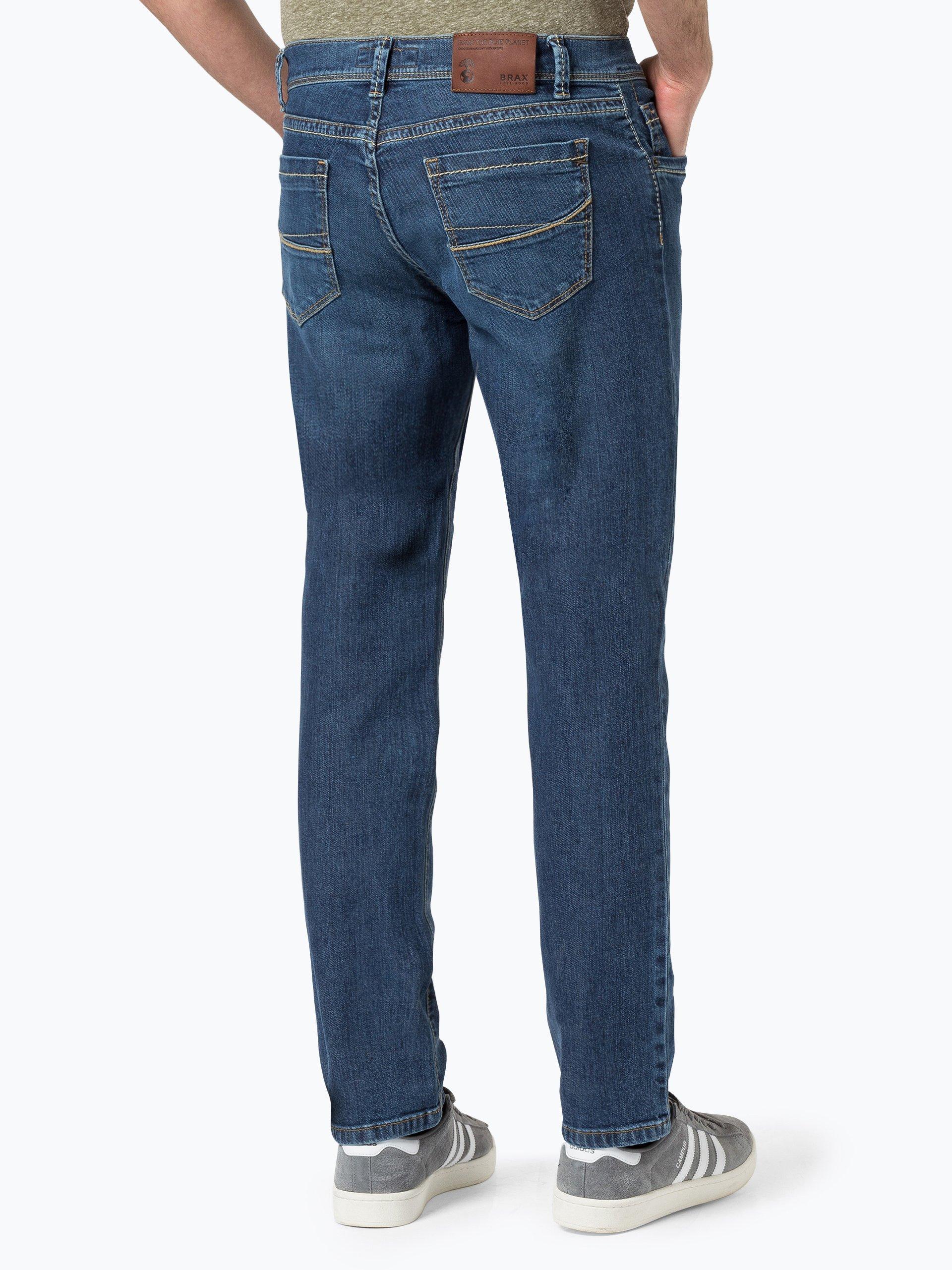 brax herren jeans cadiz blau uni online kaufen. Black Bedroom Furniture Sets. Home Design Ideas
