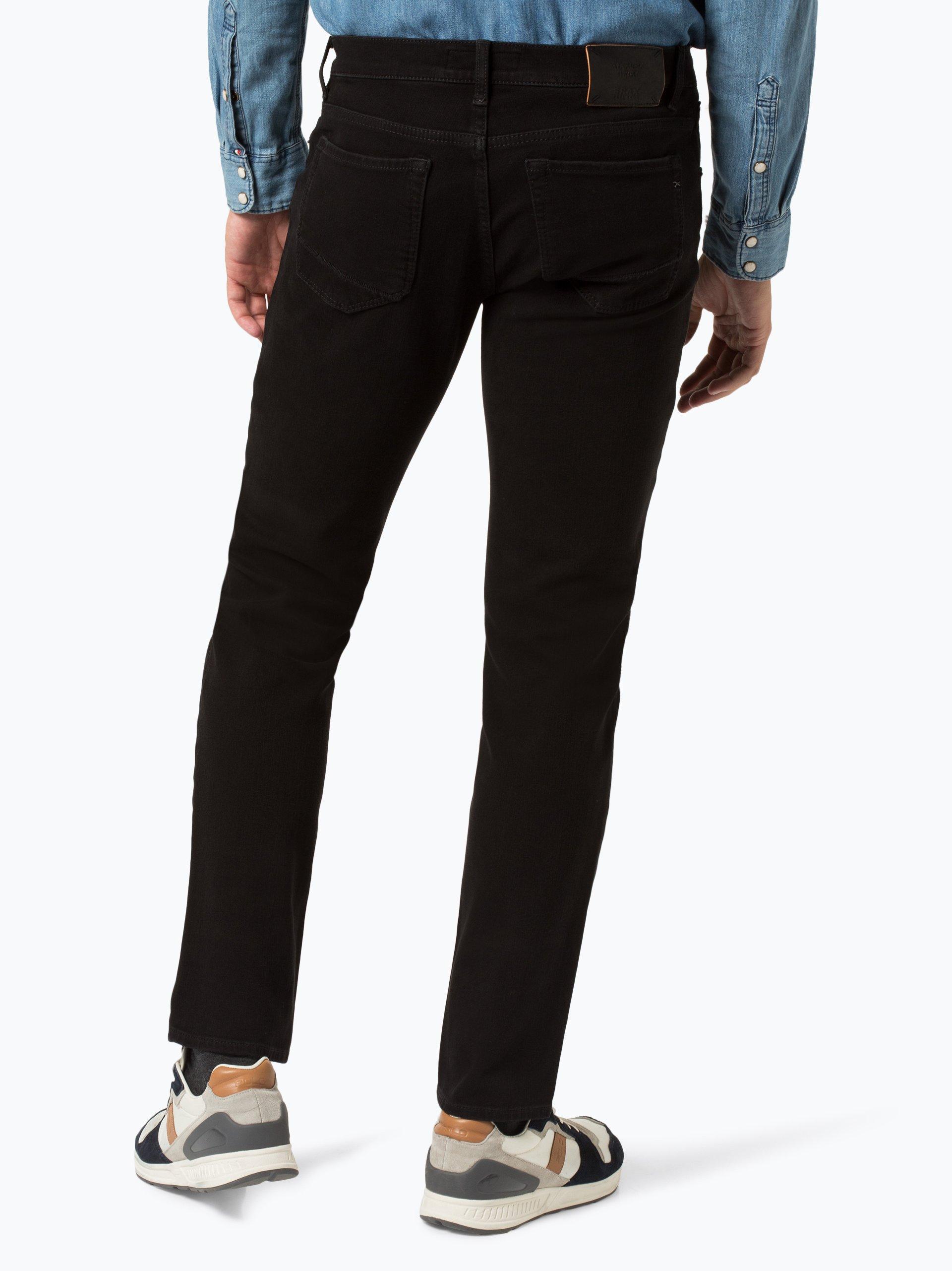 brax herren jeans chuck schwarz uni online kaufen. Black Bedroom Furniture Sets. Home Design Ideas