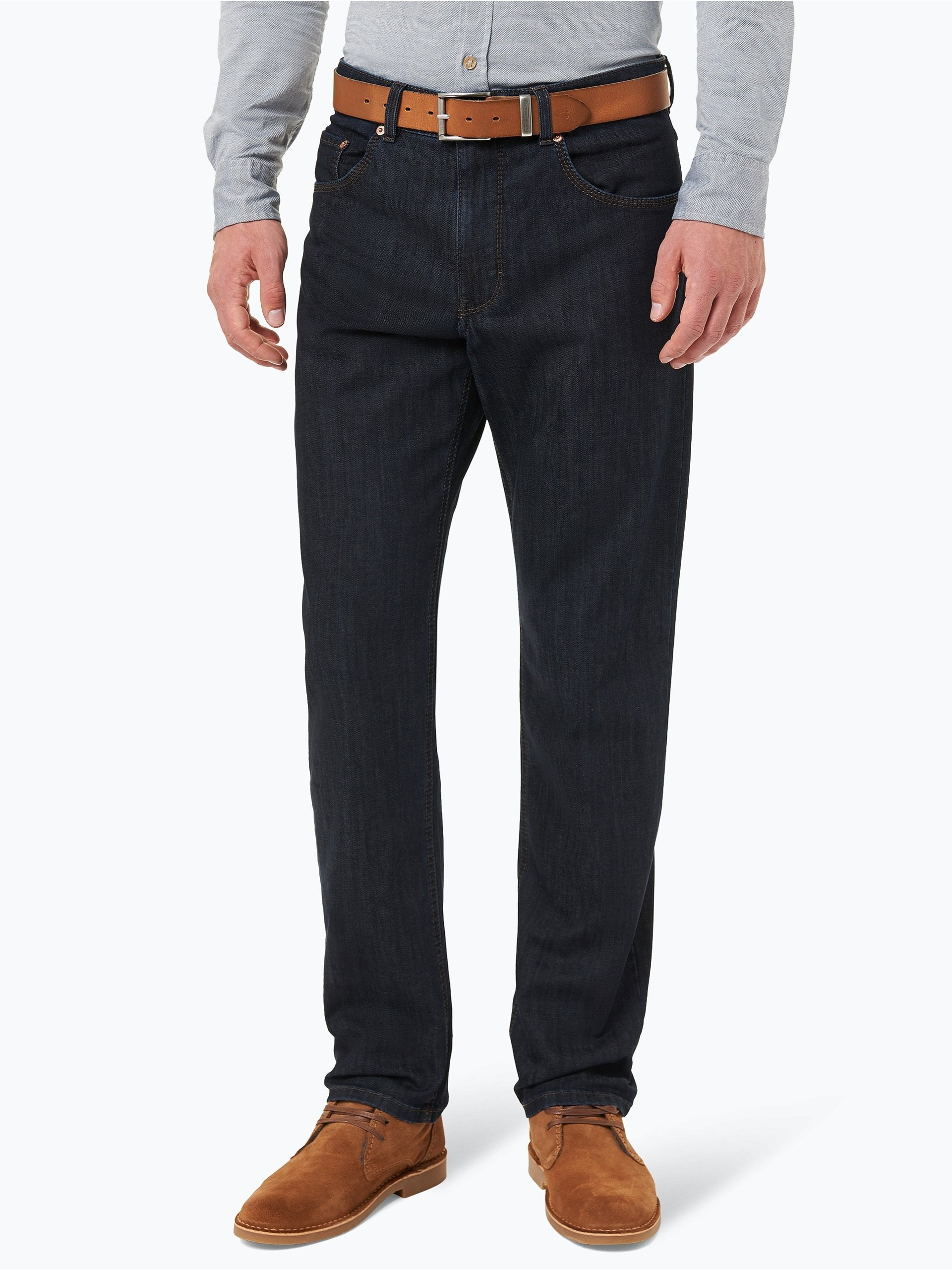 brax herren jeans cooper denim rinsed uni online kaufen. Black Bedroom Furniture Sets. Home Design Ideas