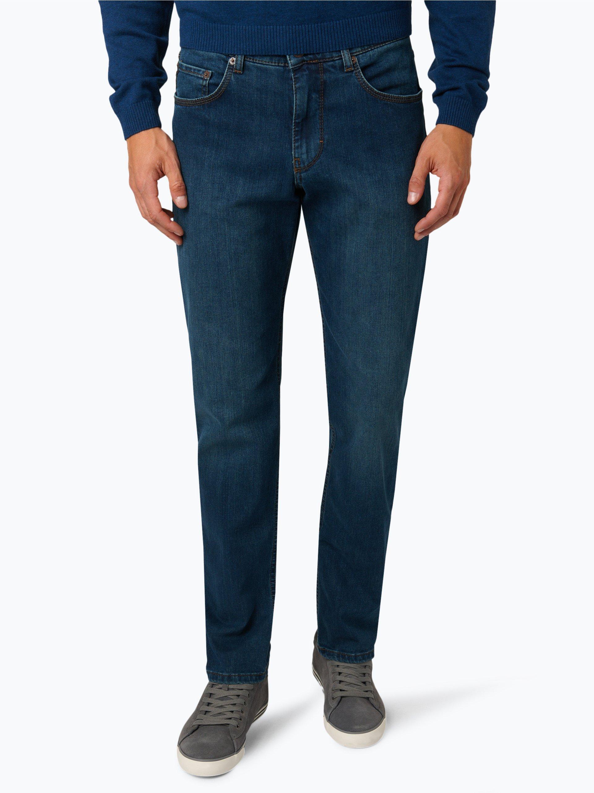 brax herren jeans cooper dark stone uni online kaufen. Black Bedroom Furniture Sets. Home Design Ideas