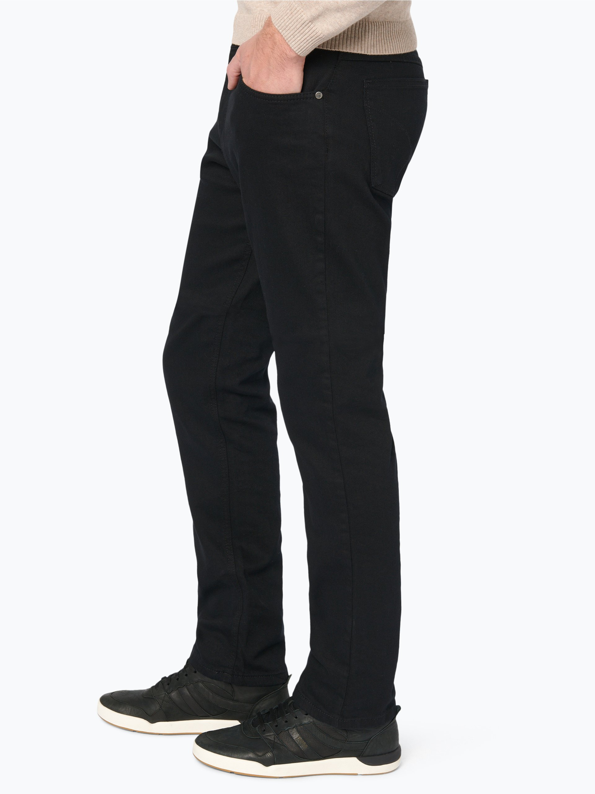 brax herren jeans cooper schwarz uni online kaufen. Black Bedroom Furniture Sets. Home Design Ideas