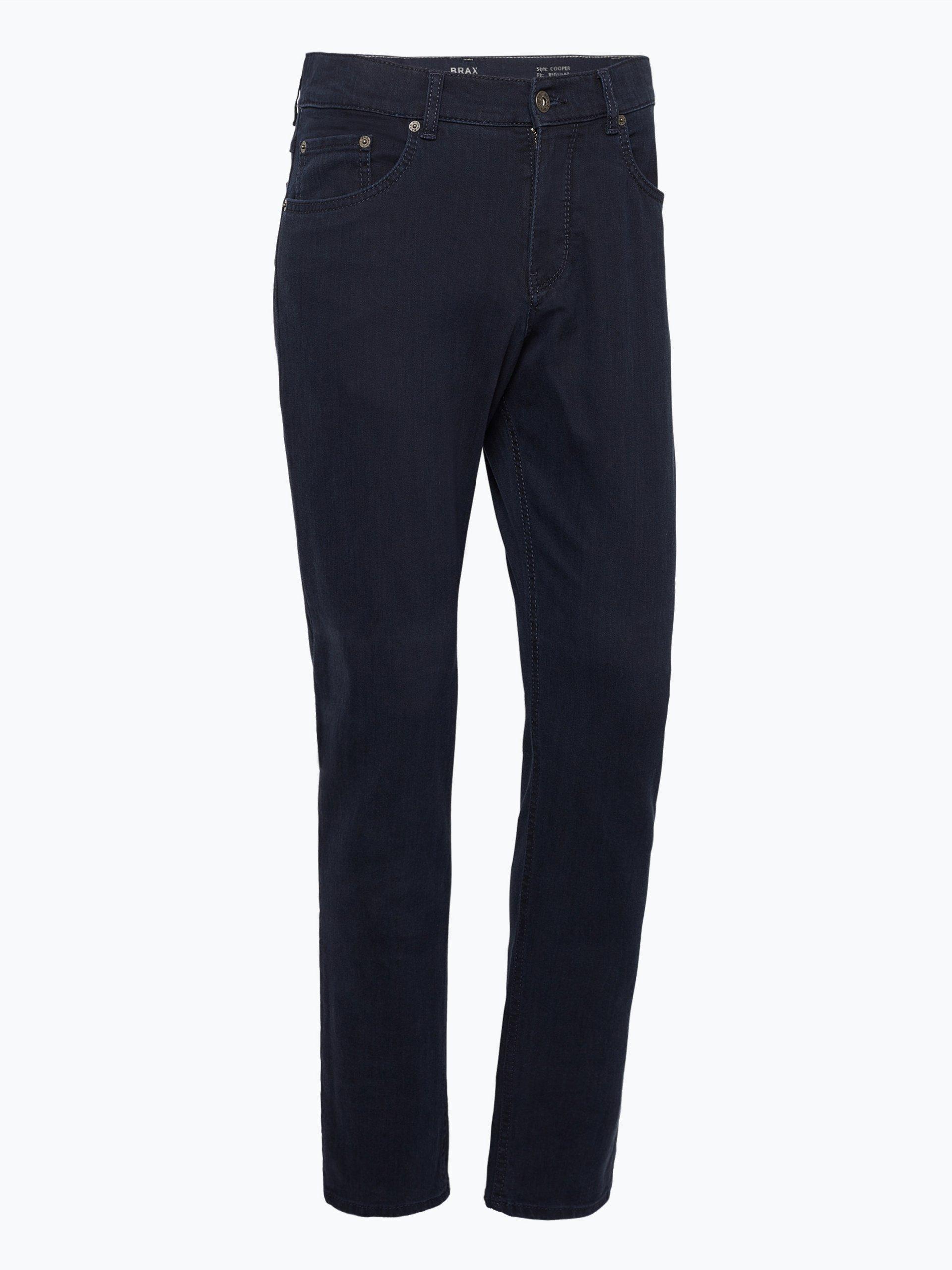 brax herren jeans cooper marine uni online kaufen peek. Black Bedroom Furniture Sets. Home Design Ideas