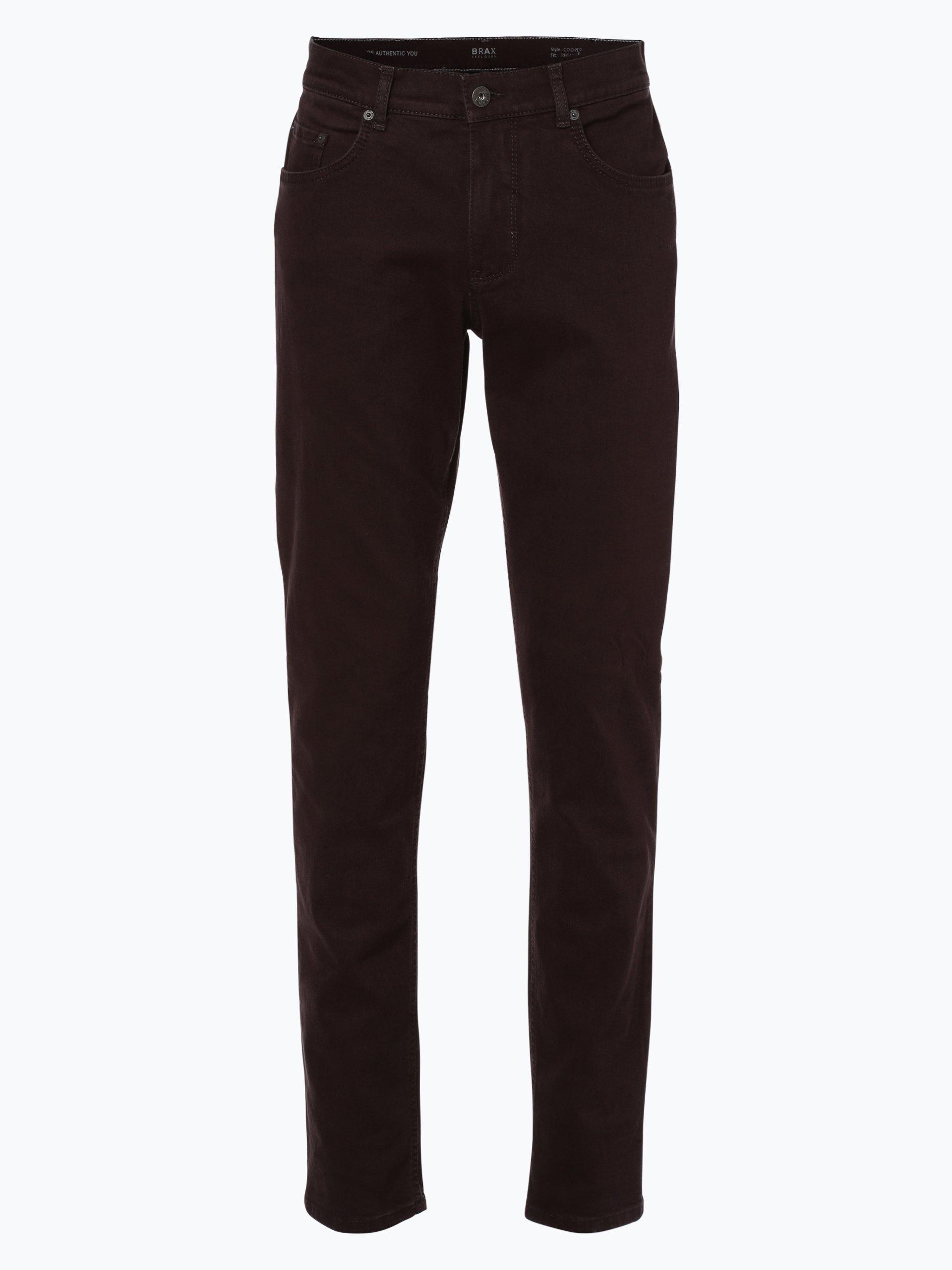 brax herren jeans cooper schoko uni online kaufen peek. Black Bedroom Furniture Sets. Home Design Ideas