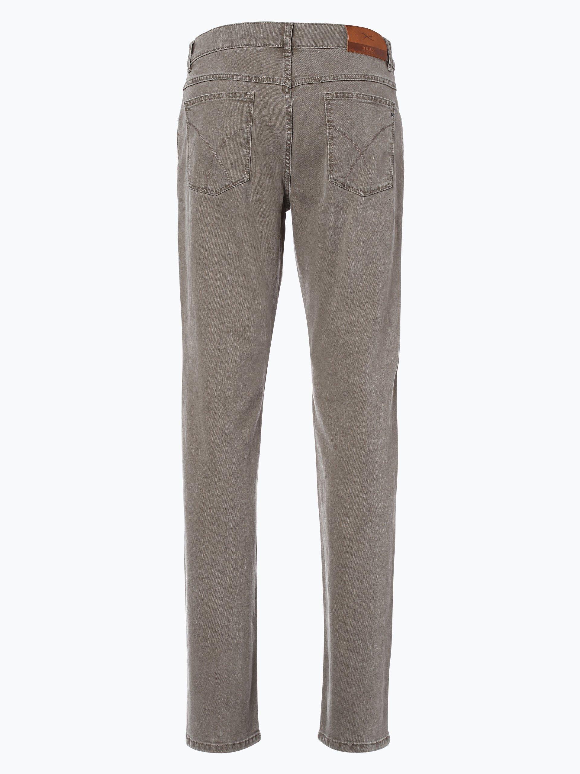 brax herren jeans cooper beige uni online kaufen peek. Black Bedroom Furniture Sets. Home Design Ideas