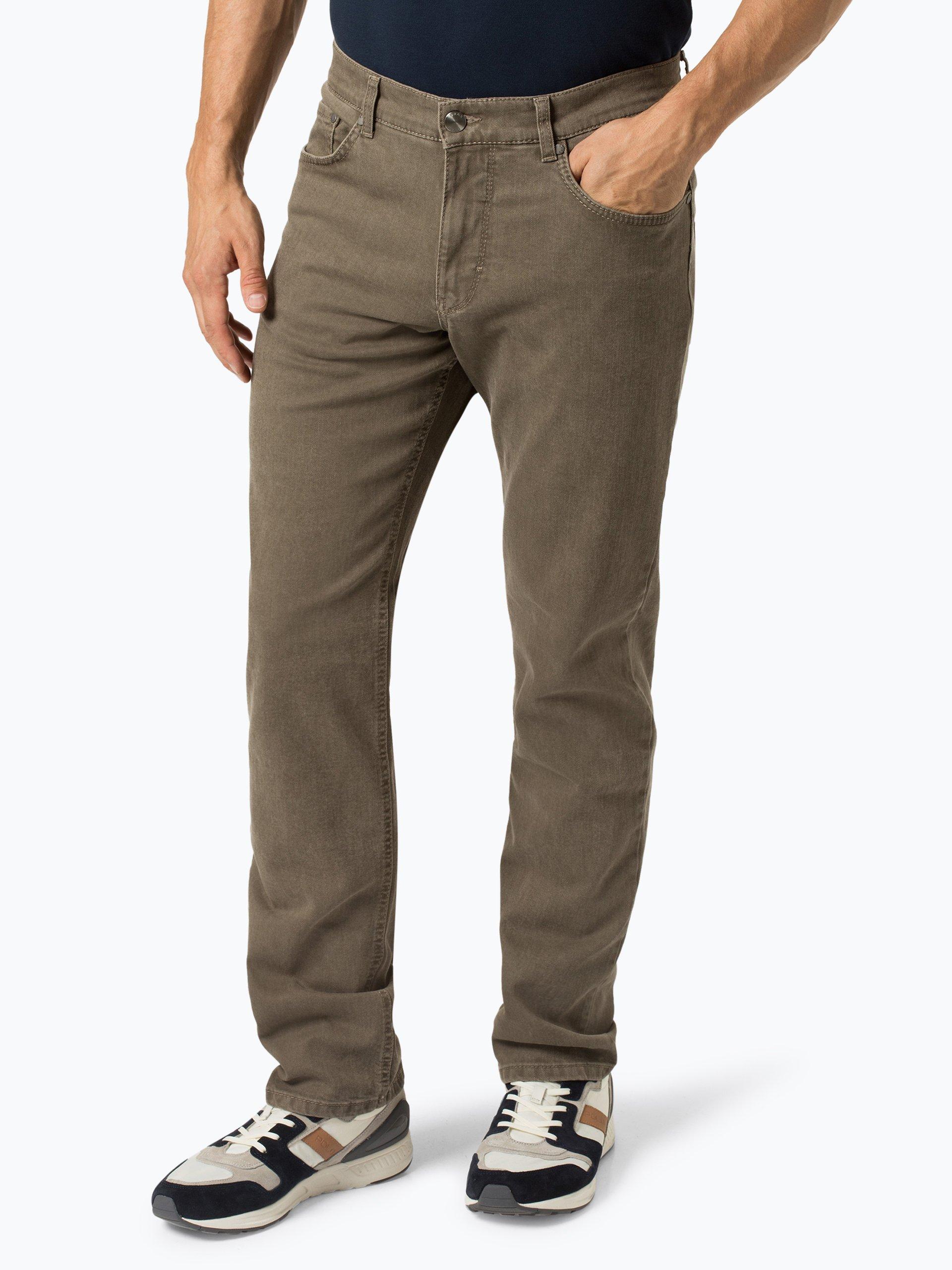 brax herren jeans cooper khaki uni online kaufen. Black Bedroom Furniture Sets. Home Design Ideas