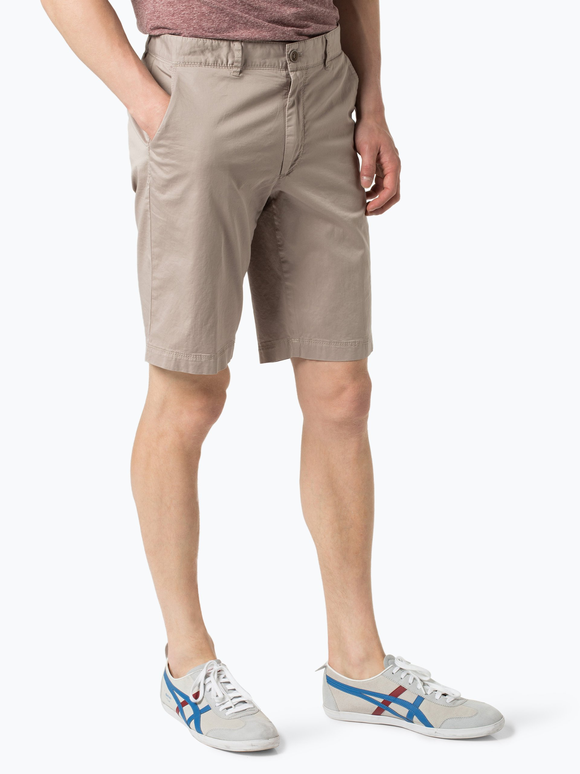 brax herren shorts bozen sand uni online kaufen vangraaf com. Black Bedroom Furniture Sets. Home Design Ideas