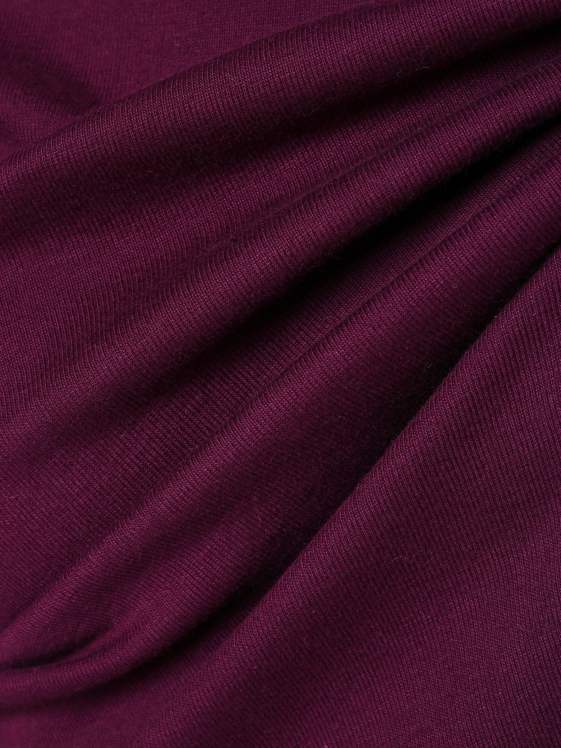 d8b80aa1ba9f02 brookshire Damen Langarmshirt aubergine uni online kaufen | PEEK-UND ...