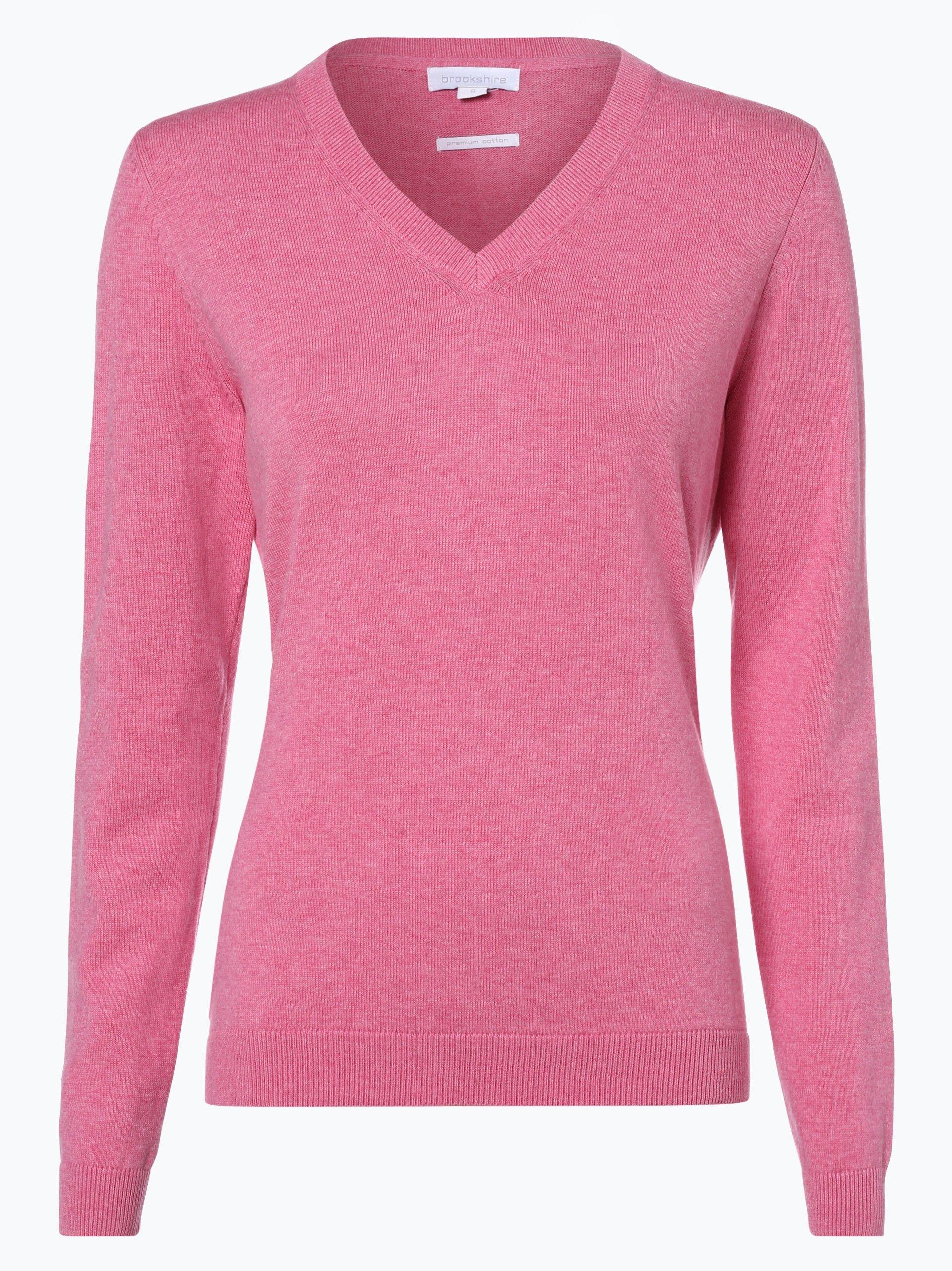 brookshire damen pullover pink uni online kaufen. Black Bedroom Furniture Sets. Home Design Ideas