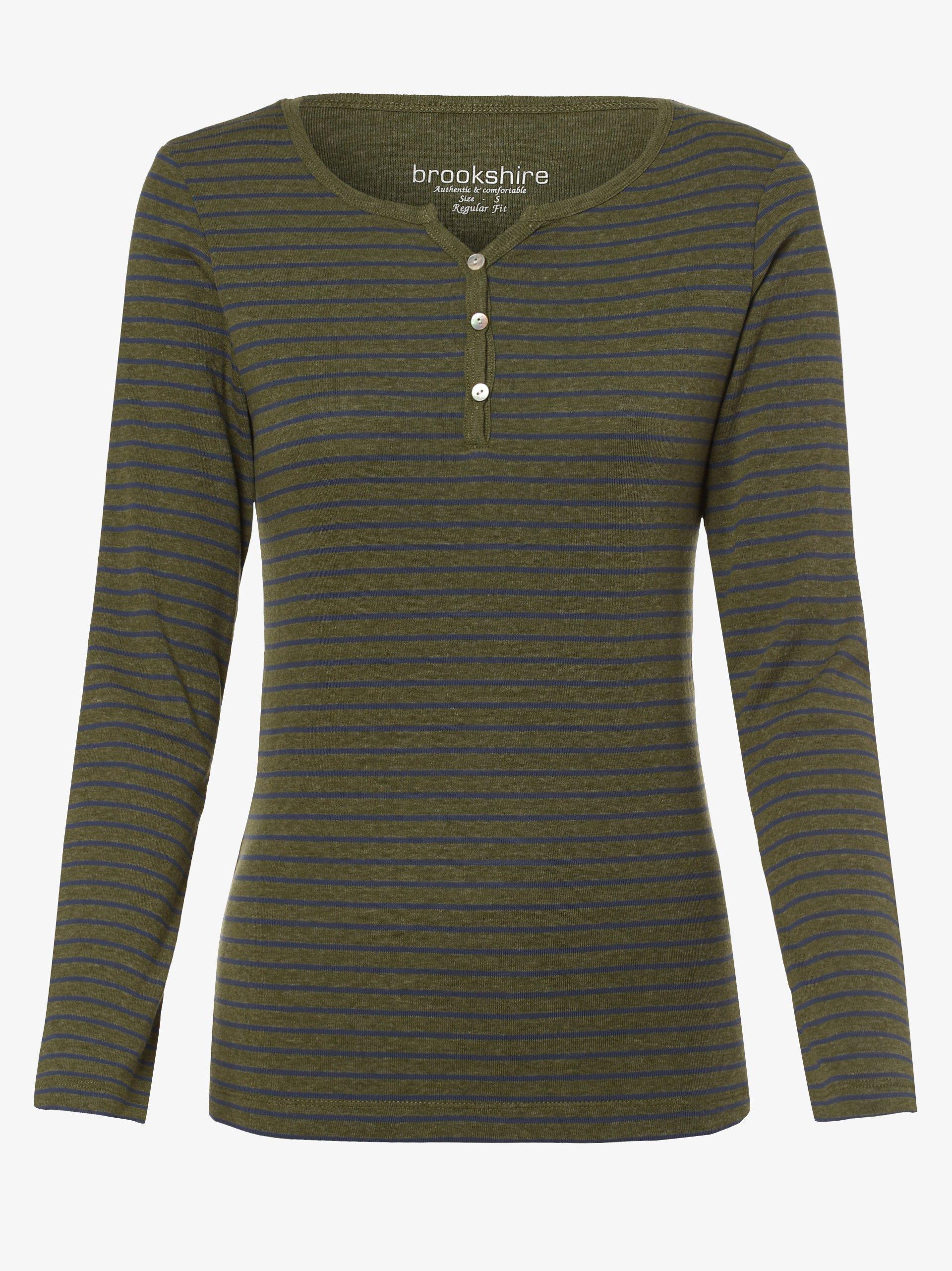 brookshire Damska koszulka z długim rękawem