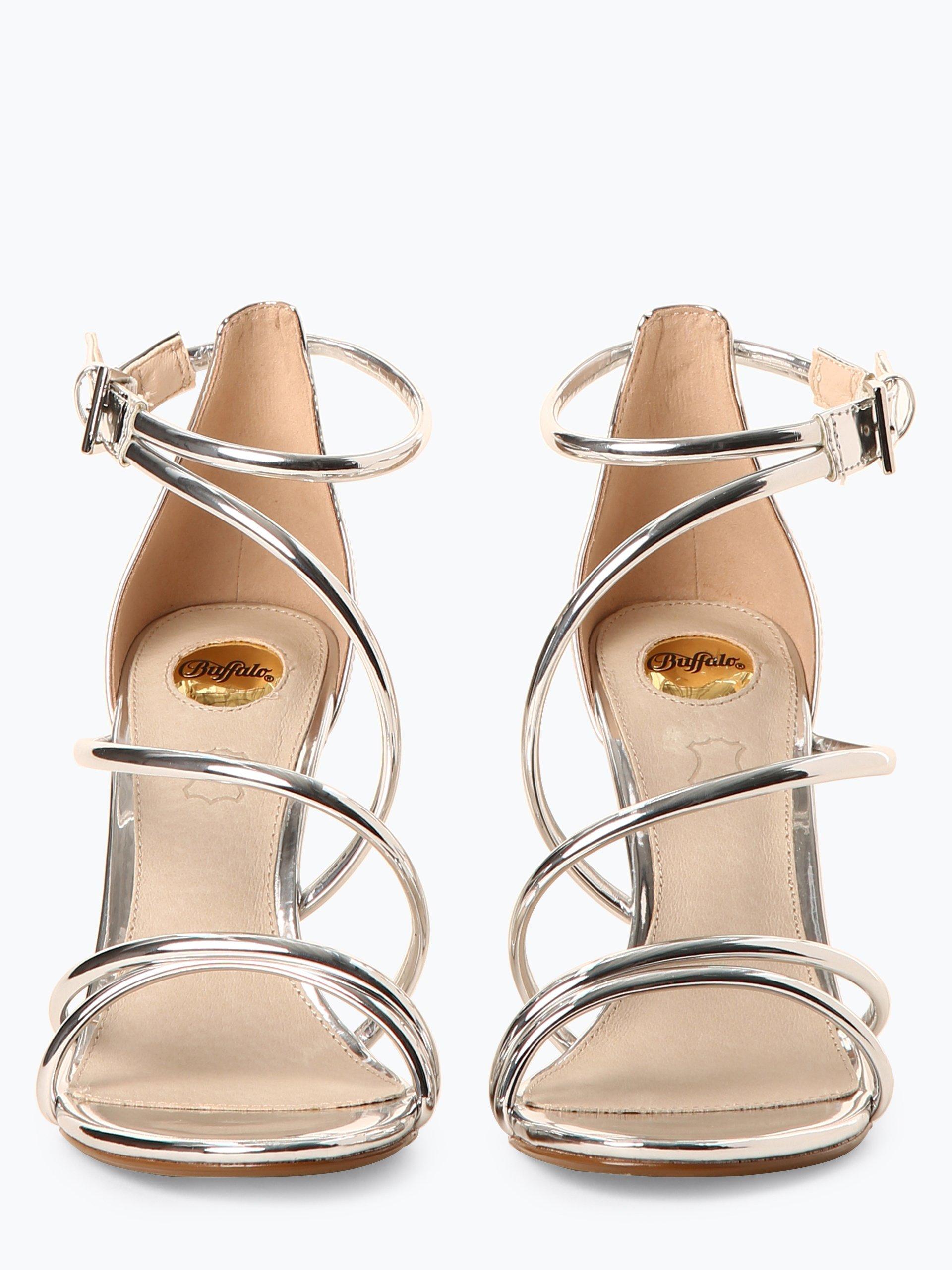 Buffalo Damskie sandały na obcasie
