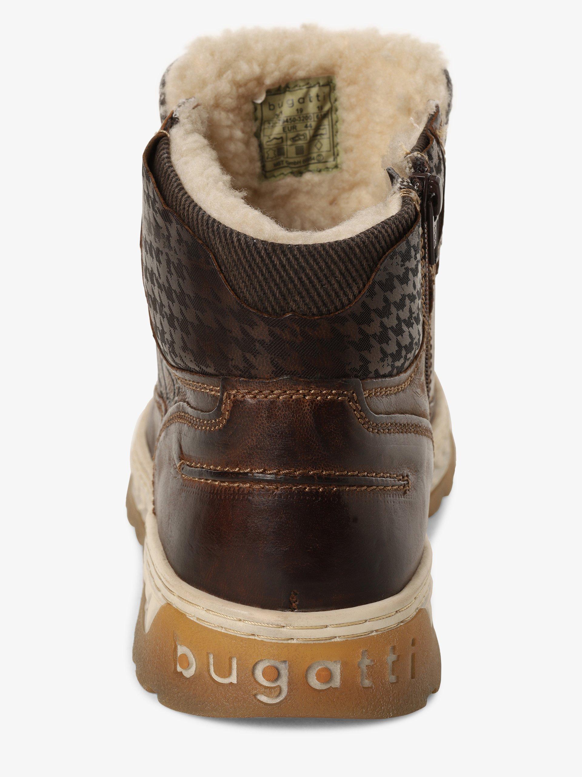 Bugatti Kozaki męskie ze skóry