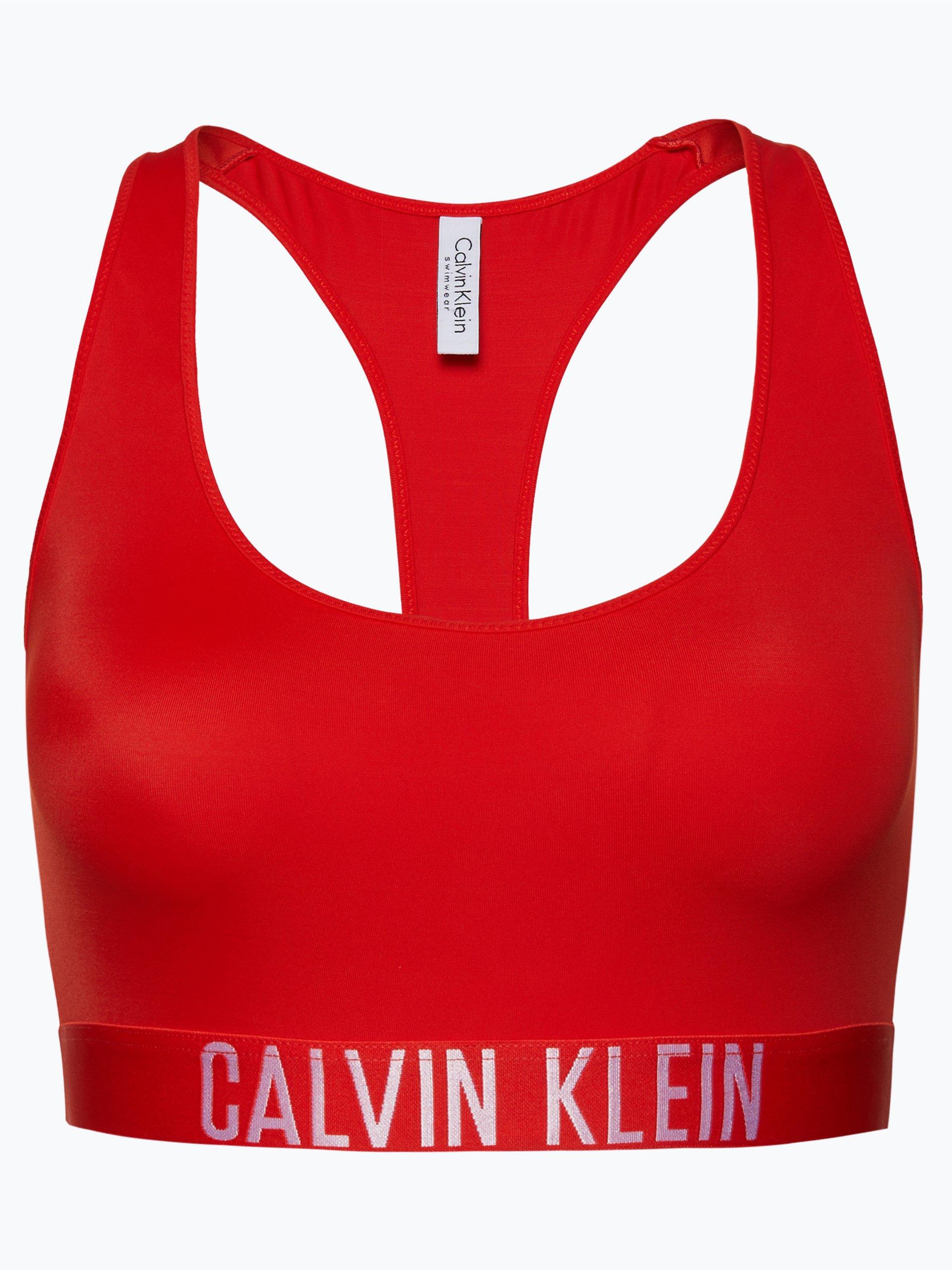 calvin klein damen bikini oberteil racer back bralette. Black Bedroom Furniture Sets. Home Design Ideas
