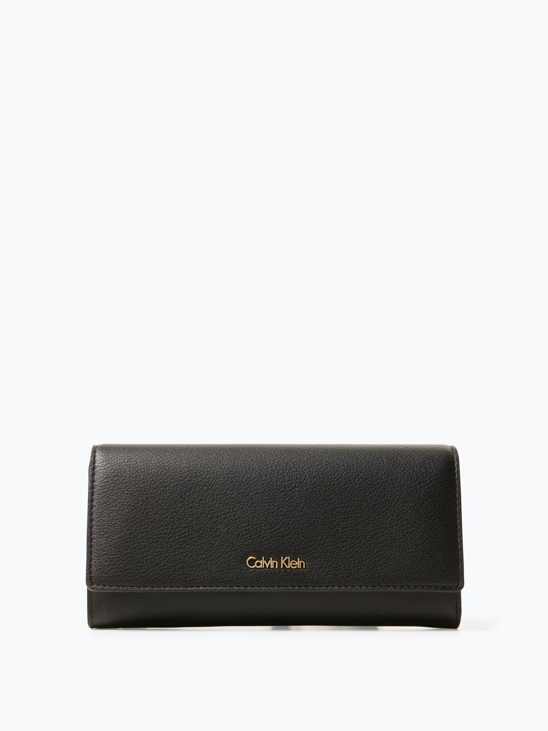 Calvin Klein Damen Geldbörse in Leder-Optik - Milli3