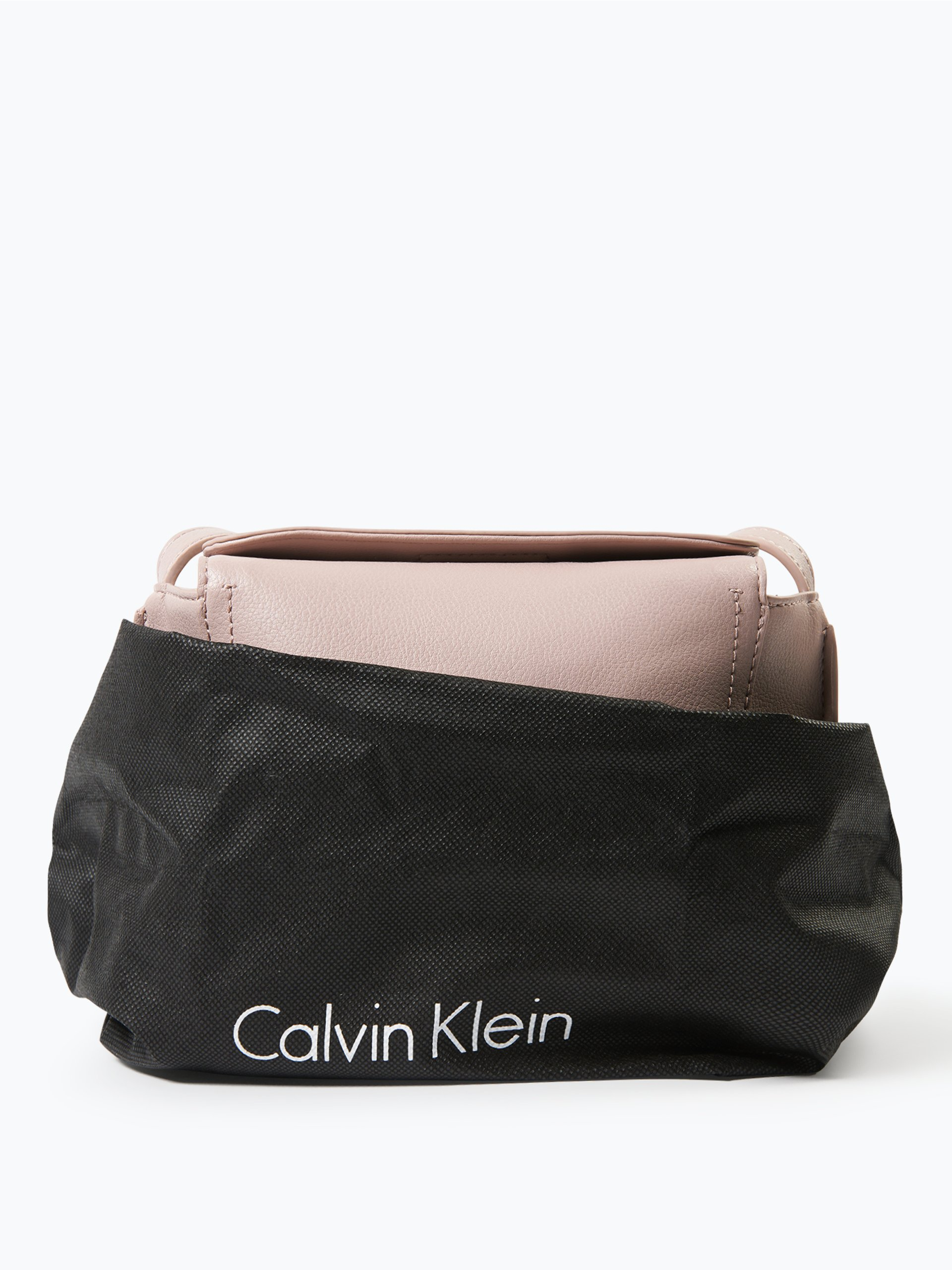 calvin klein damen handtasche in leder optik altrosa uni. Black Bedroom Furniture Sets. Home Design Ideas