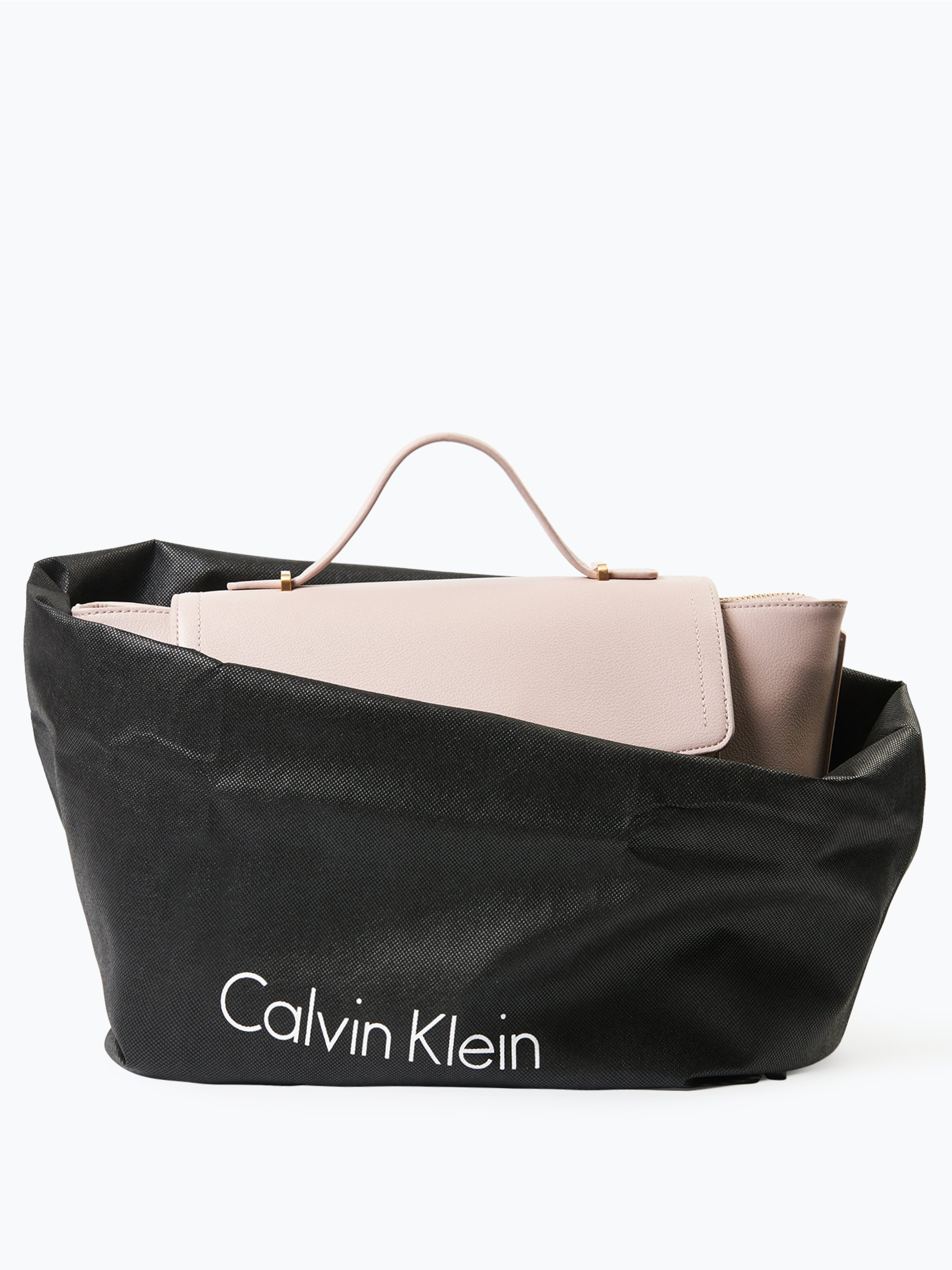 calvin klein damen handtasche in leder optik altrosa uni online kaufen vangraaf com. Black Bedroom Furniture Sets. Home Design Ideas