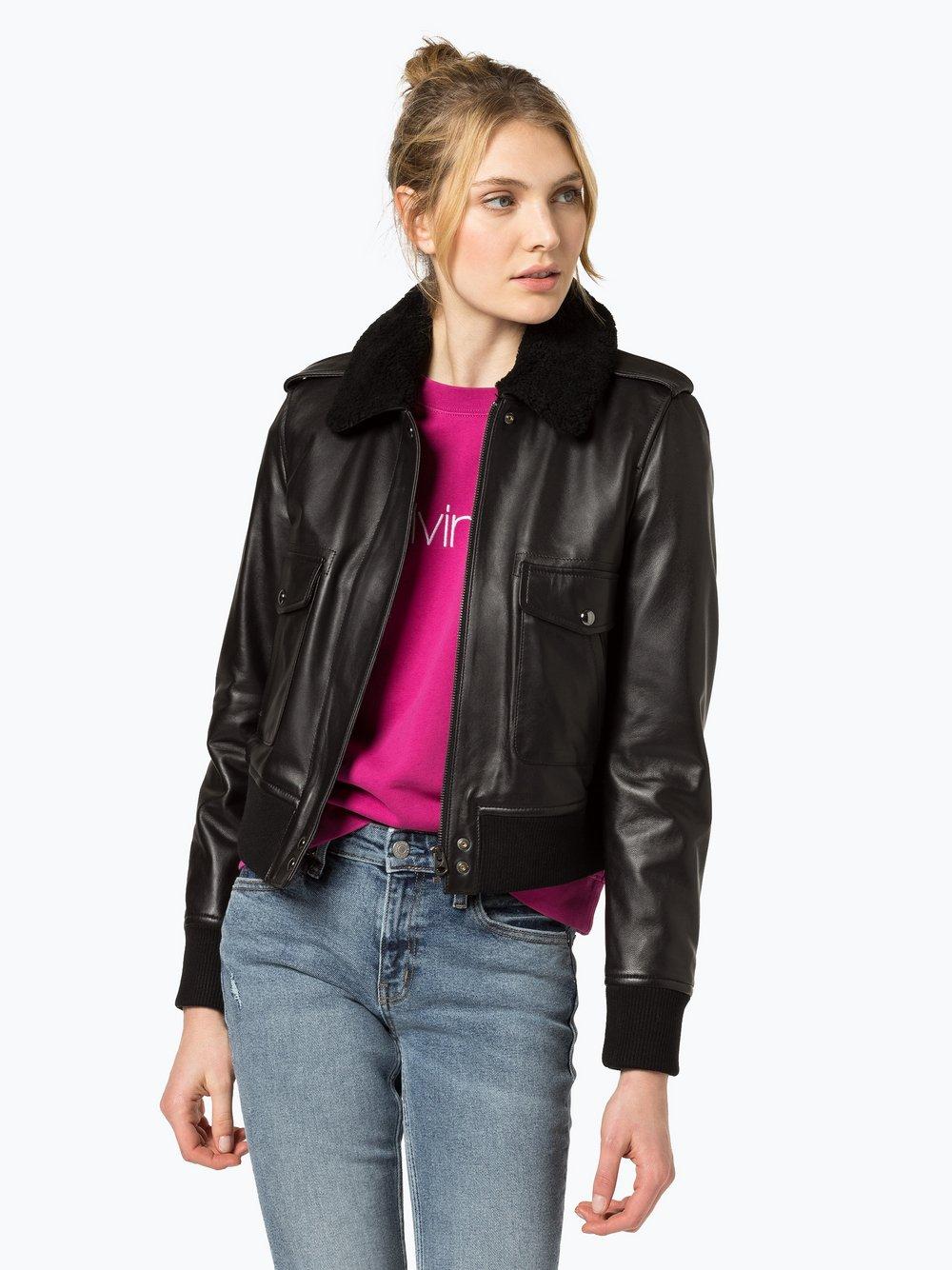 Calvin Klein Damen Lederjacke online kaufen   PEEK UND