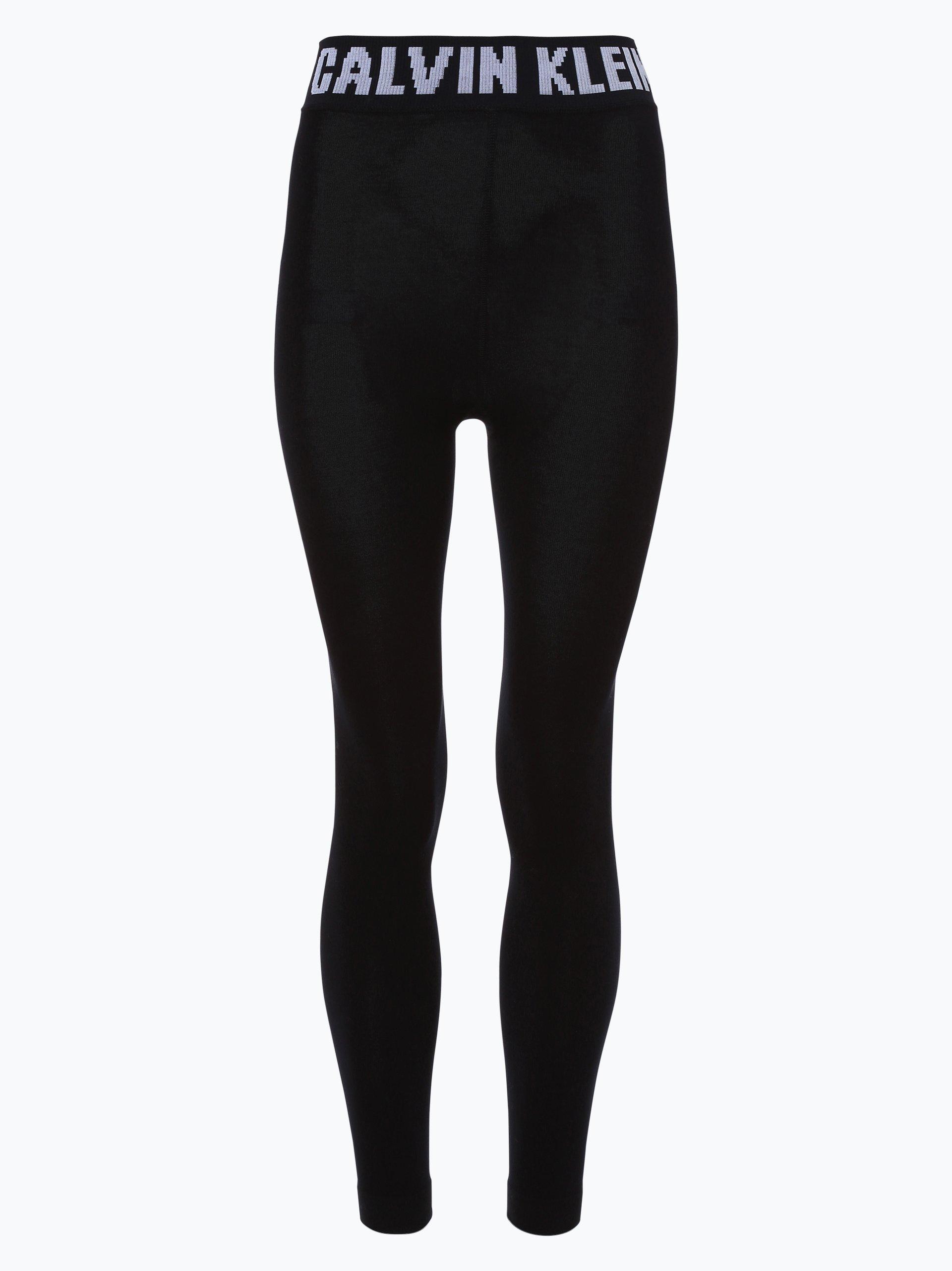 calvin klein damen leggings schwarz uni online kaufen. Black Bedroom Furniture Sets. Home Design Ideas
