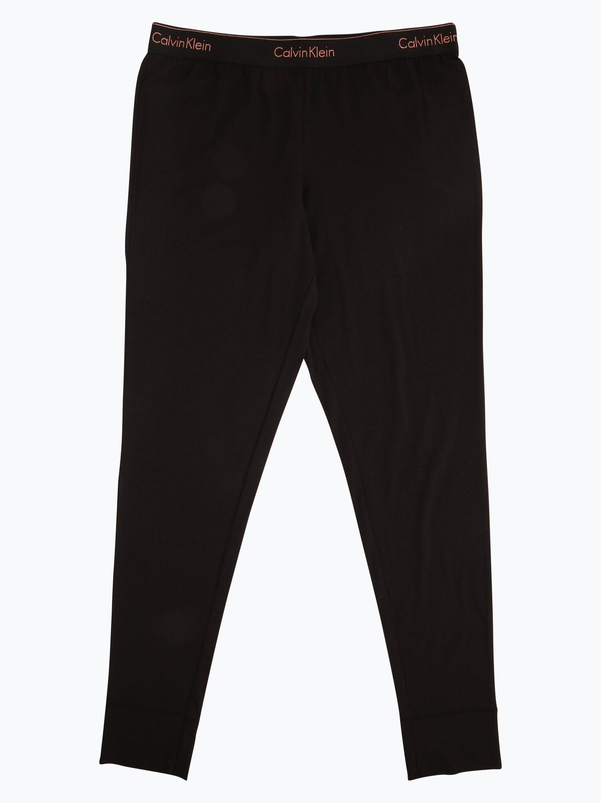 calvin klein damen pyjama hose schwarz uni online kaufen. Black Bedroom Furniture Sets. Home Design Ideas