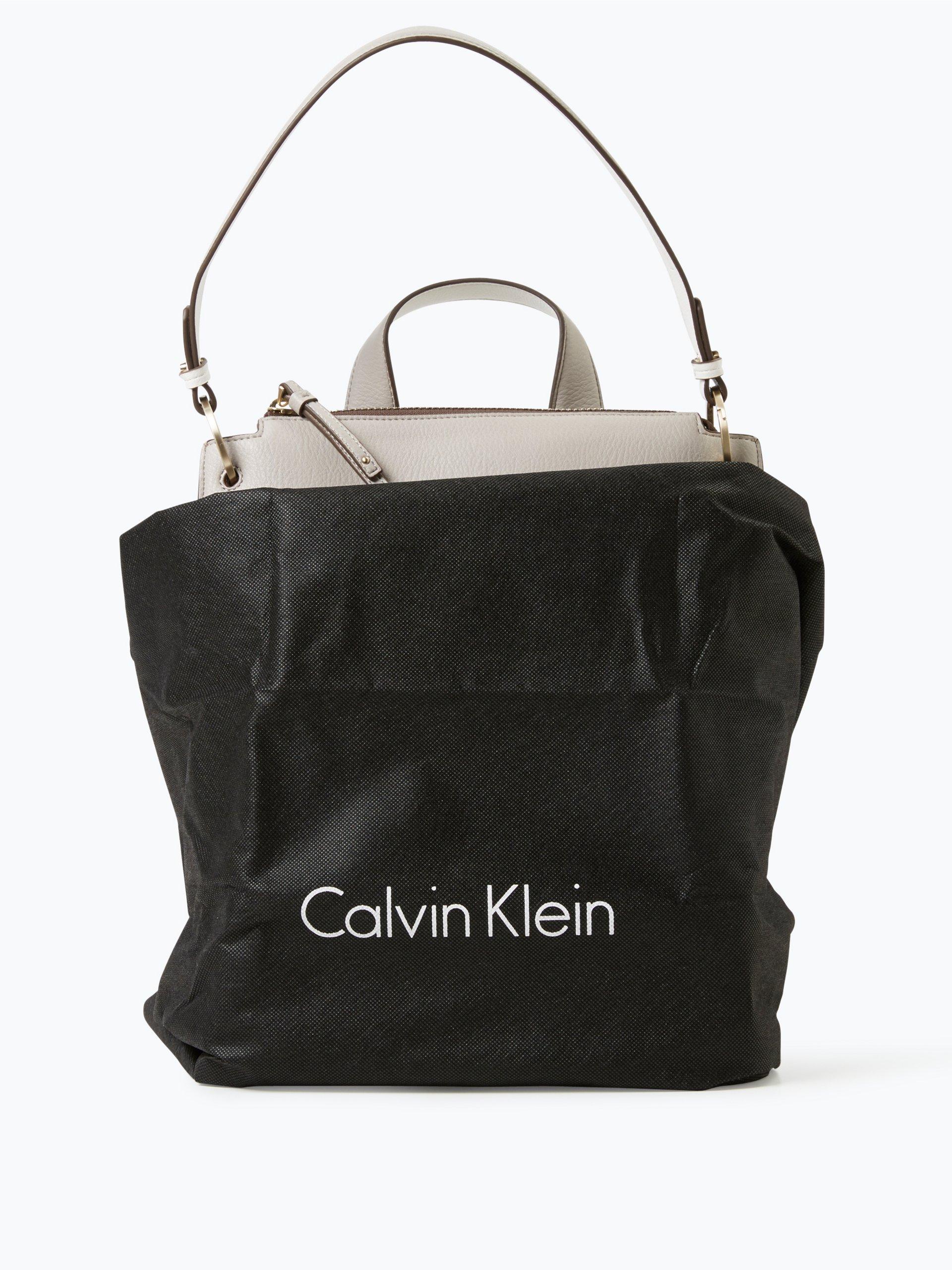 calvin klein damen rucksack in leder optik beige uni online kaufen vangraaf com. Black Bedroom Furniture Sets. Home Design Ideas
