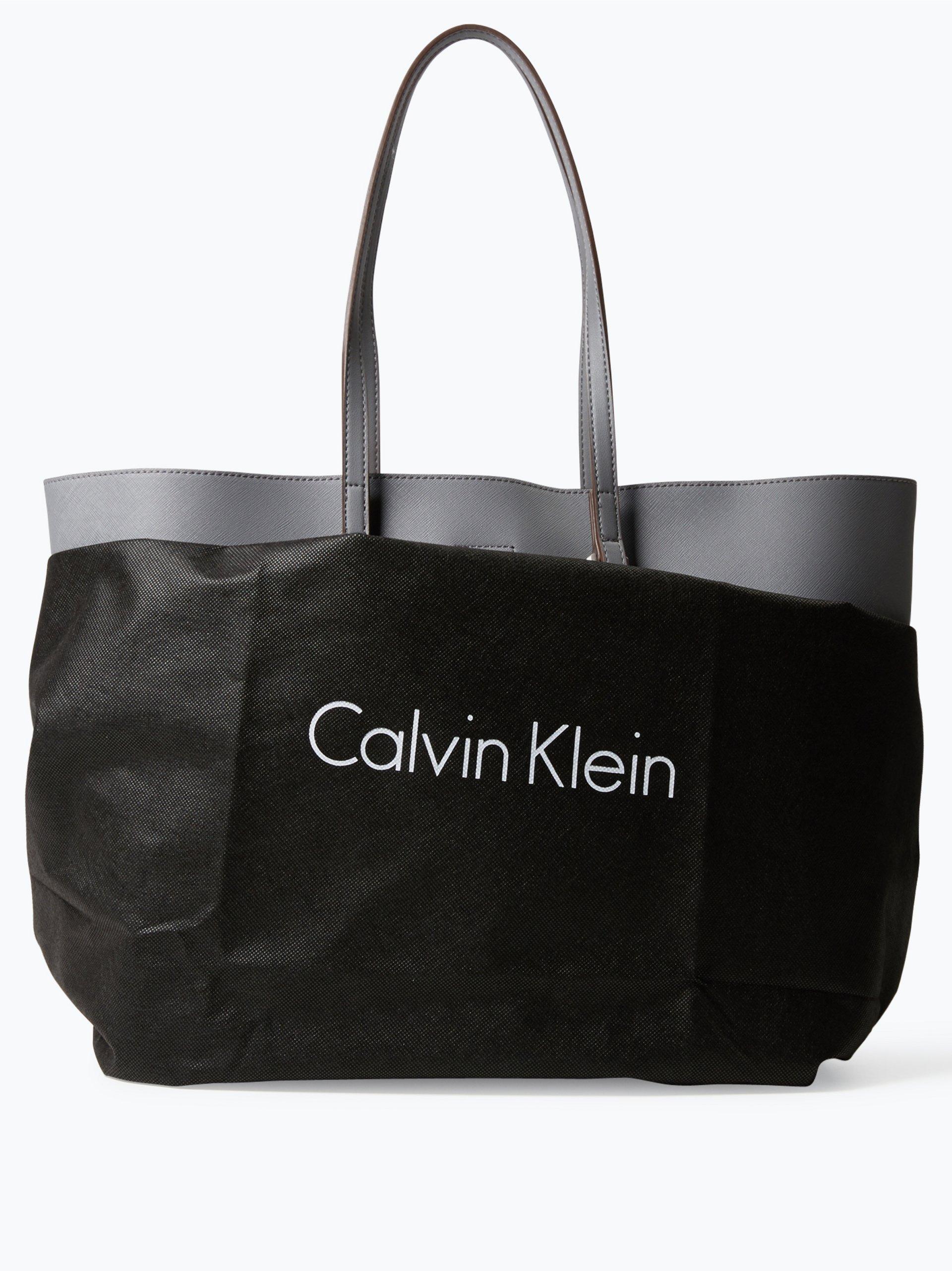 calvin klein damen shopper solid grau uni online kaufen. Black Bedroom Furniture Sets. Home Design Ideas