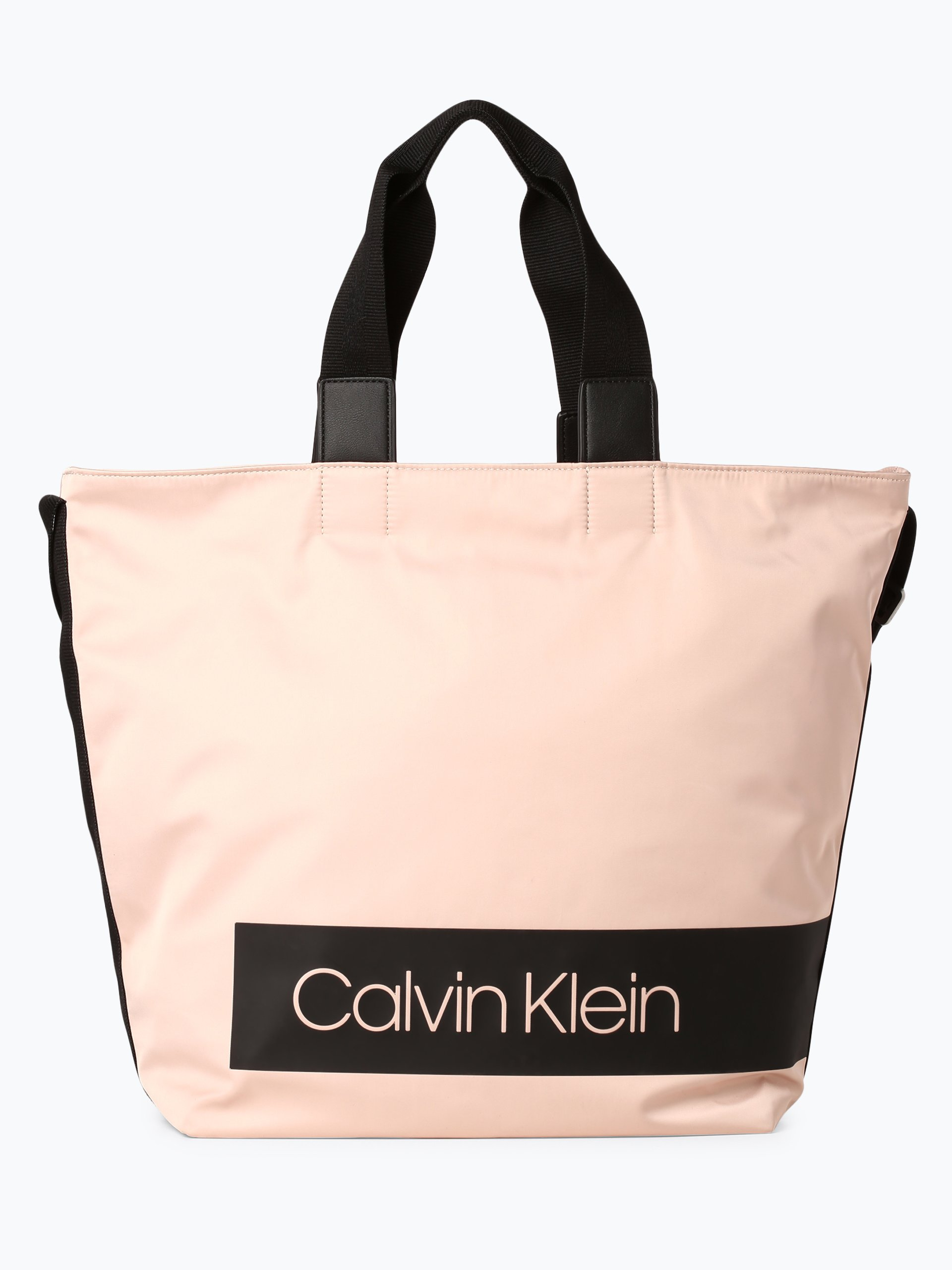 calvin klein damen shopper nude uni online kaufen. Black Bedroom Furniture Sets. Home Design Ideas