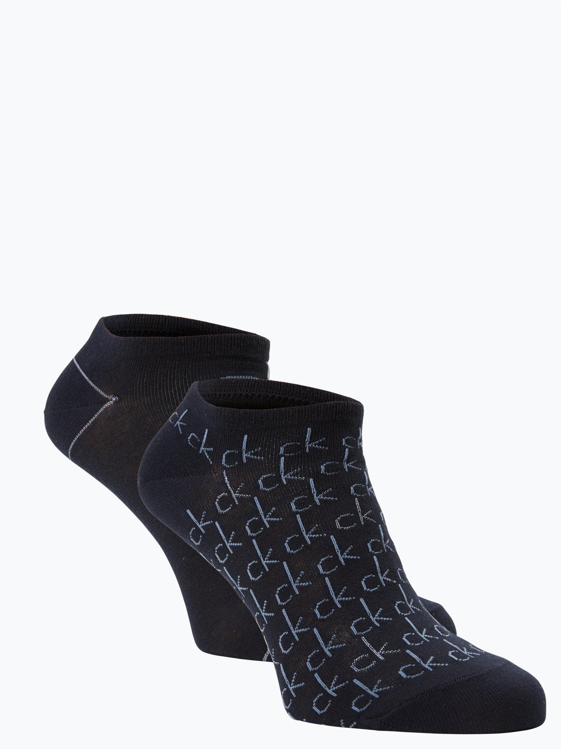 Calvin Klein Damskie skarpety do obuwia sportowego pakowane po 2 szt.