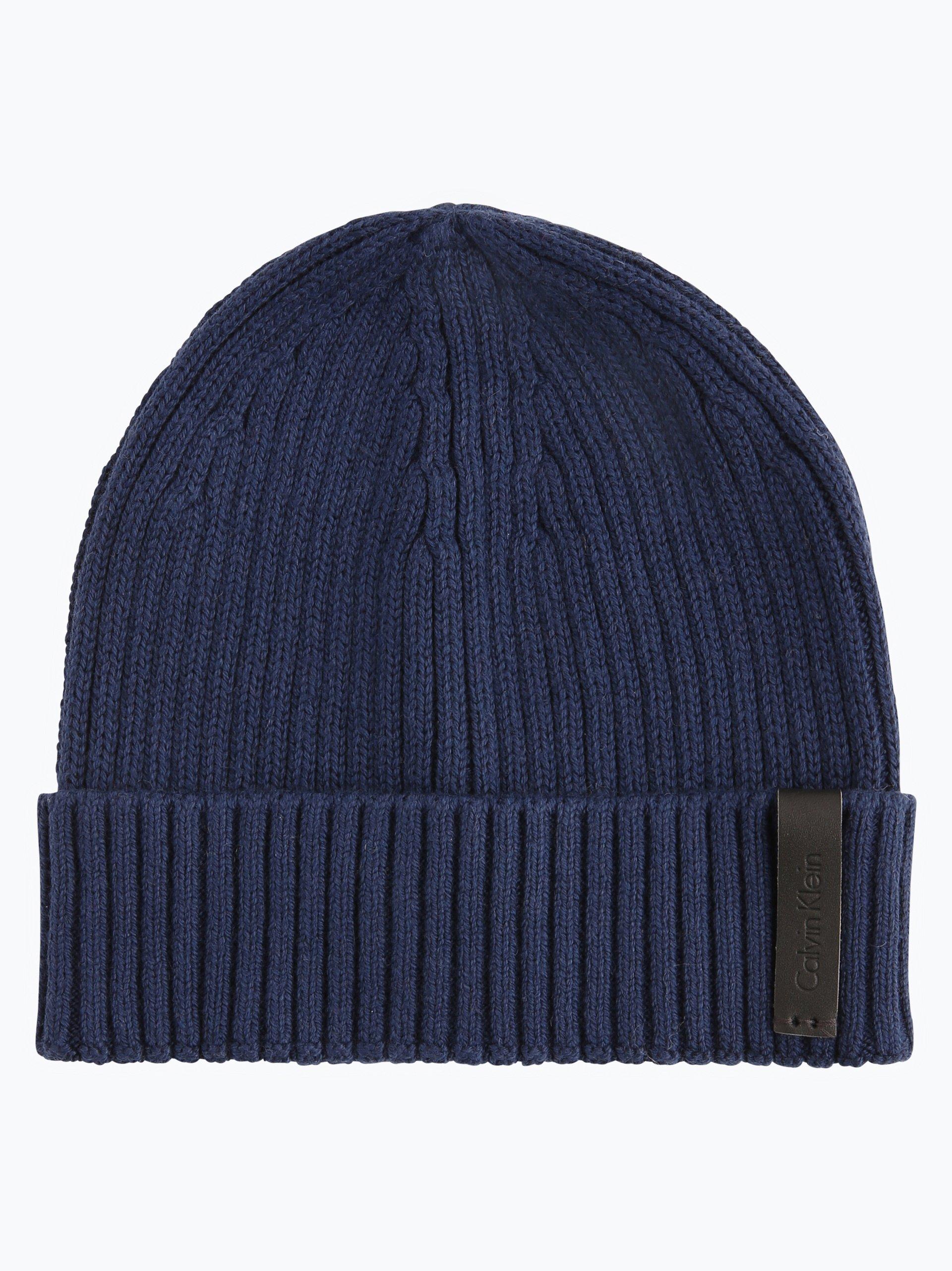 calvin klein herren m tze mit casmere anteil octave hat. Black Bedroom Furniture Sets. Home Design Ideas