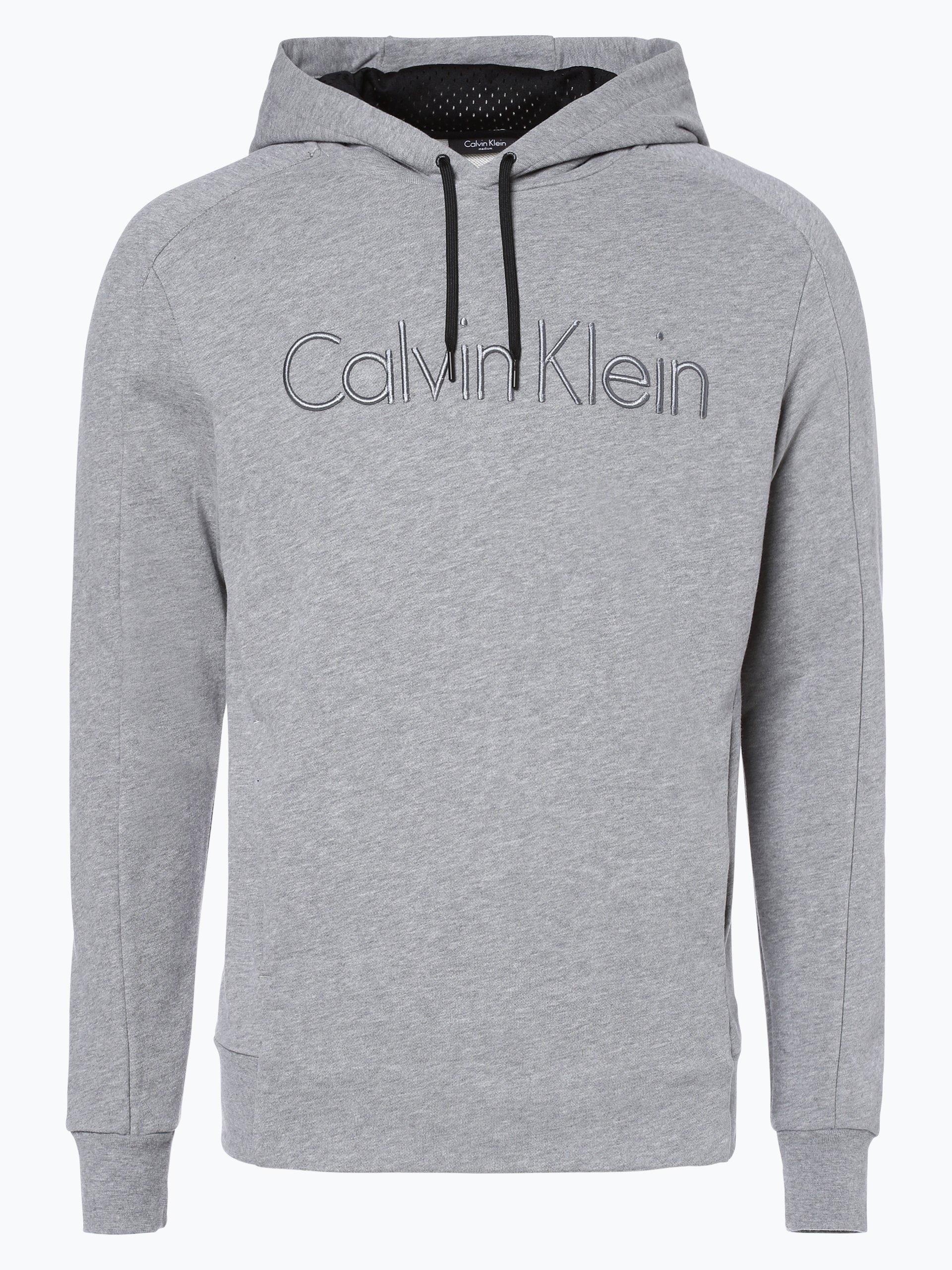 calvin klein herren sweatshirt grau uni online kaufen peek und cloppenburg de. Black Bedroom Furniture Sets. Home Design Ideas