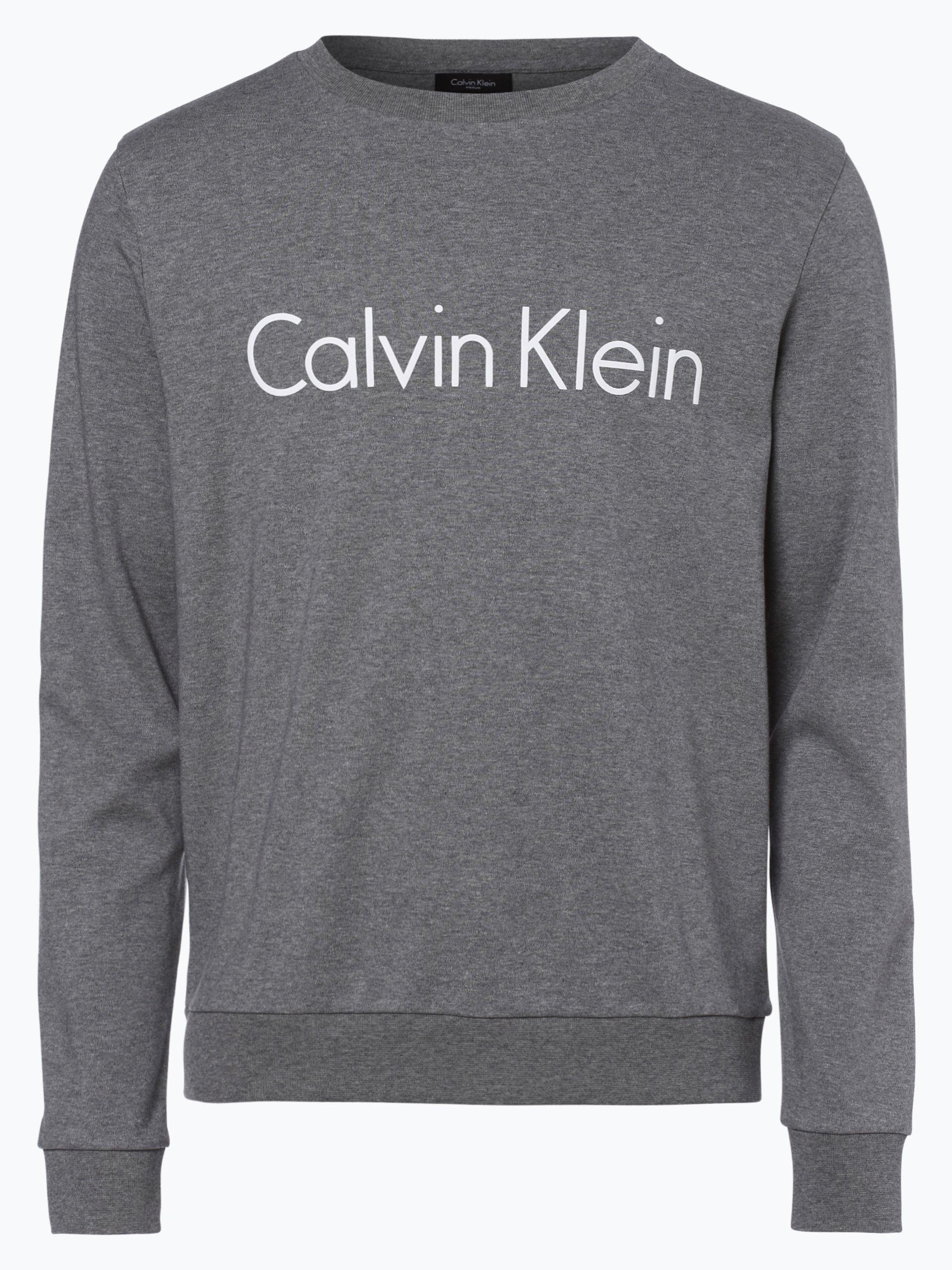 calvin klein herren sweatshirt grau bedruckt online kaufen peek und cloppenburg de. Black Bedroom Furniture Sets. Home Design Ideas