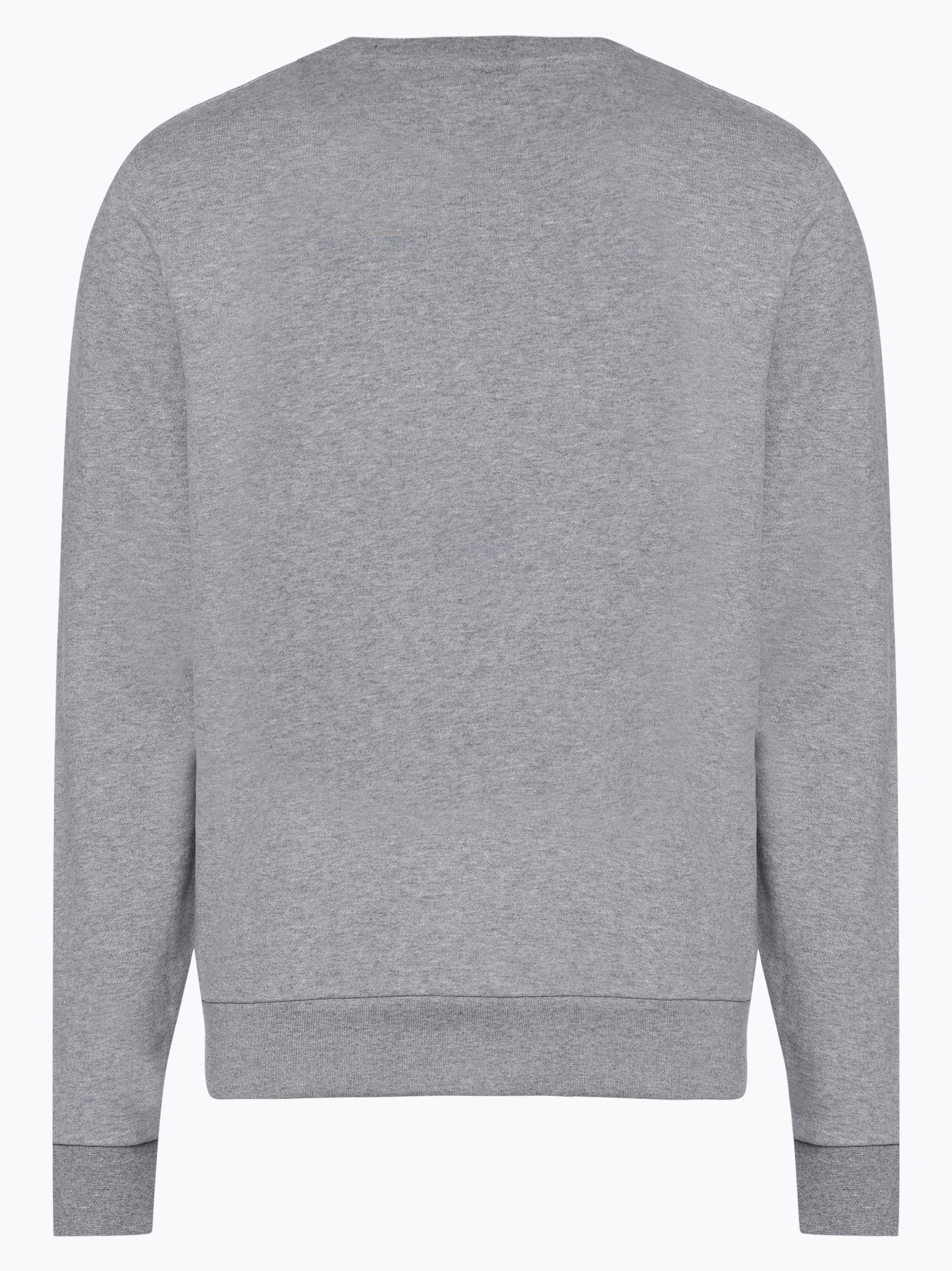 calvin klein herren sweatshirt grau bedruckt online kaufen vangraaf com. Black Bedroom Furniture Sets. Home Design Ideas