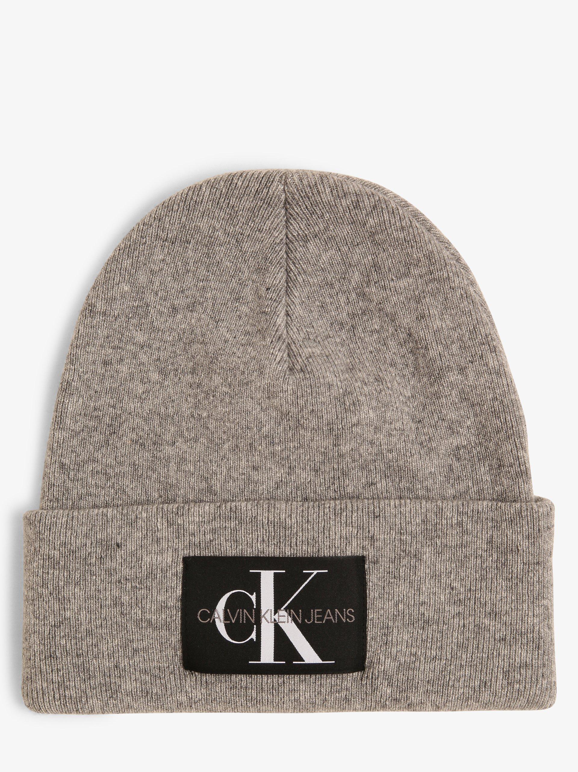 Calvin Klein Jeans Czapka męska z dodatkiem kaszmiru