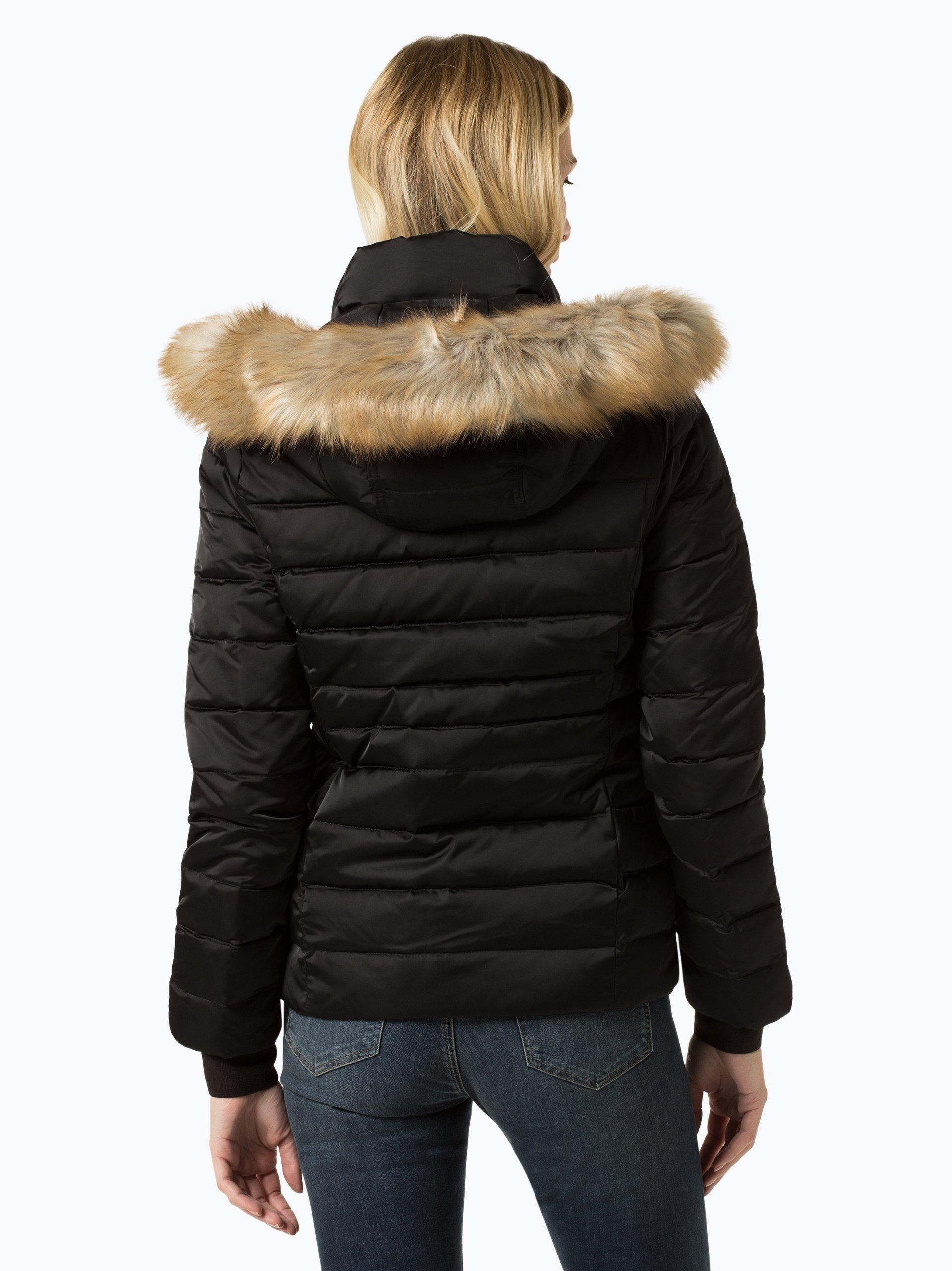 calvin klein jeans damen daunenjacke schwarz uni online kaufen peek und cloppenburg de. Black Bedroom Furniture Sets. Home Design Ideas