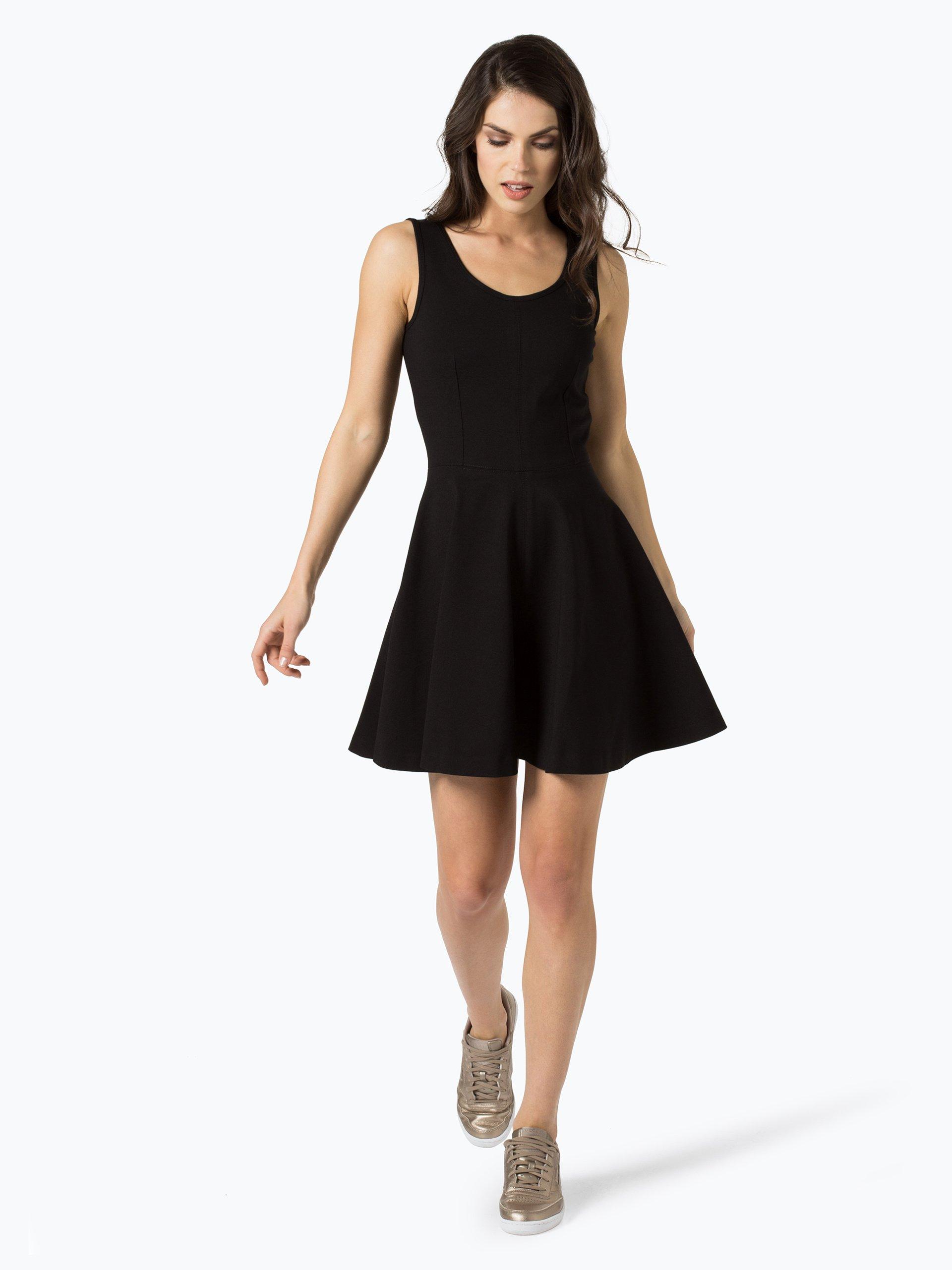 calvin klein jeans damen kleid schwarz uni online kaufen. Black Bedroom Furniture Sets. Home Design Ideas