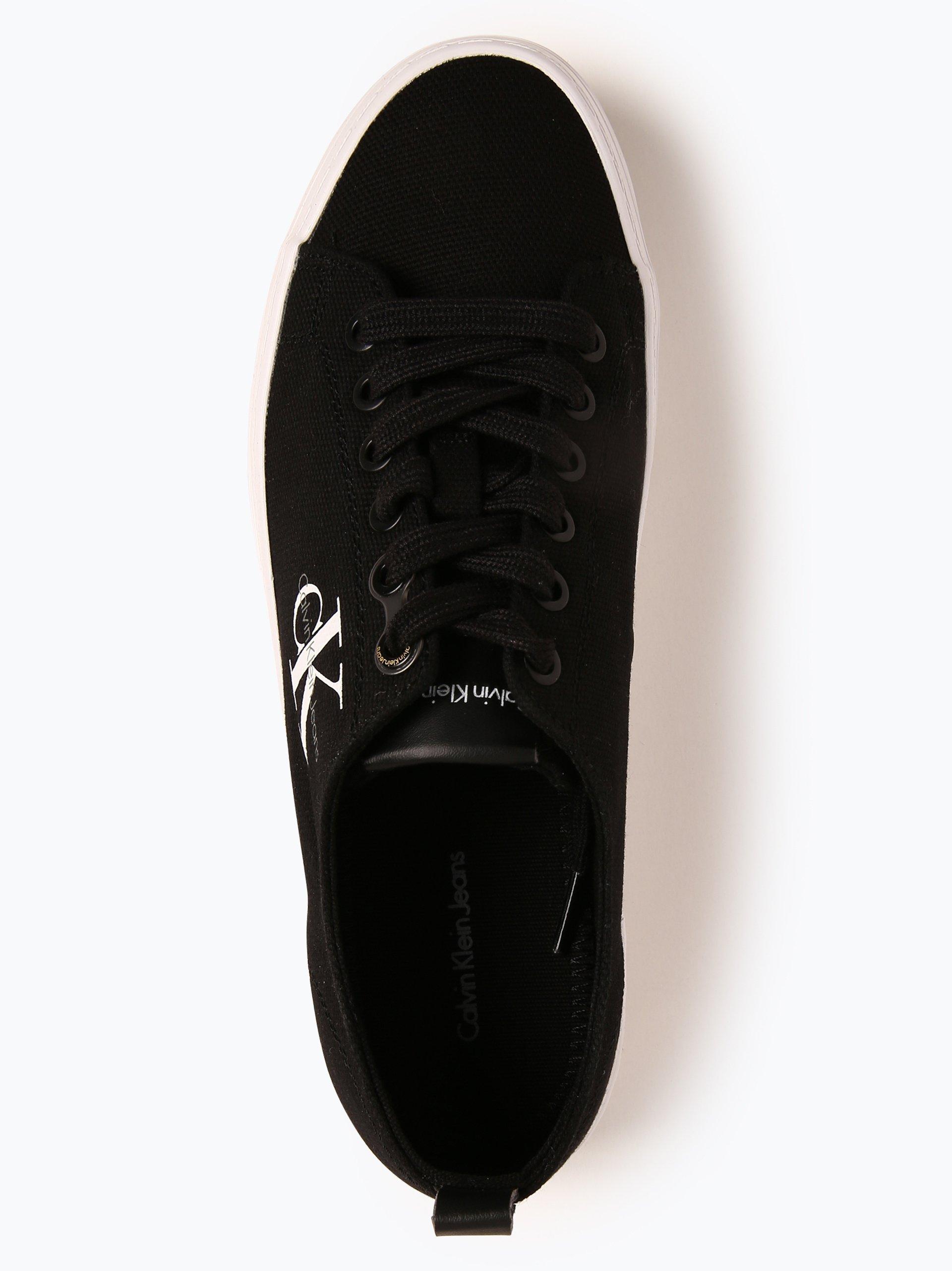 calvin klein jeans damen sneaker zolah schwarz uni. Black Bedroom Furniture Sets. Home Design Ideas