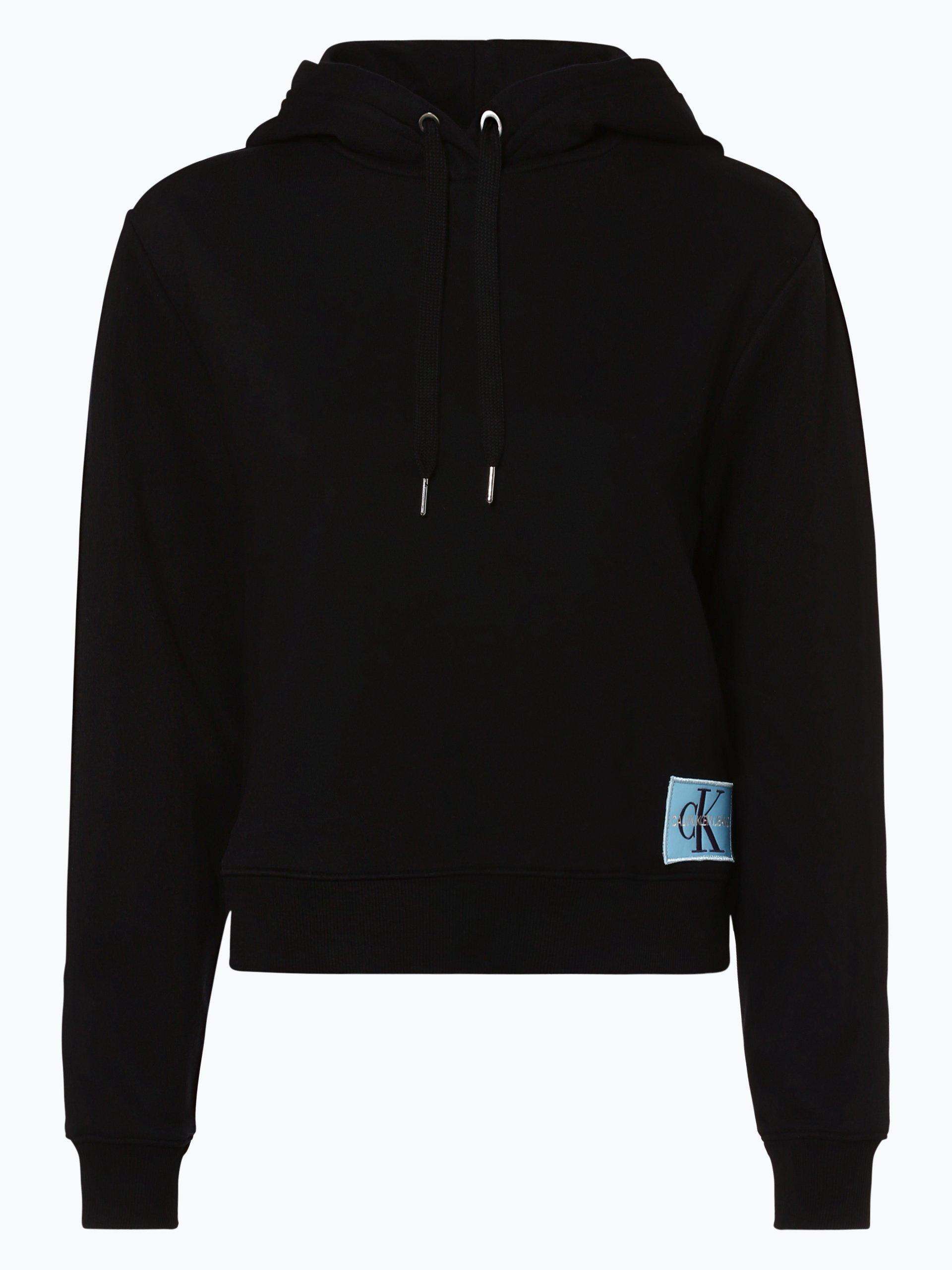 calvin klein jeans damen sweatshirt schwarz gemustert online kaufen peek und cloppenburg de. Black Bedroom Furniture Sets. Home Design Ideas